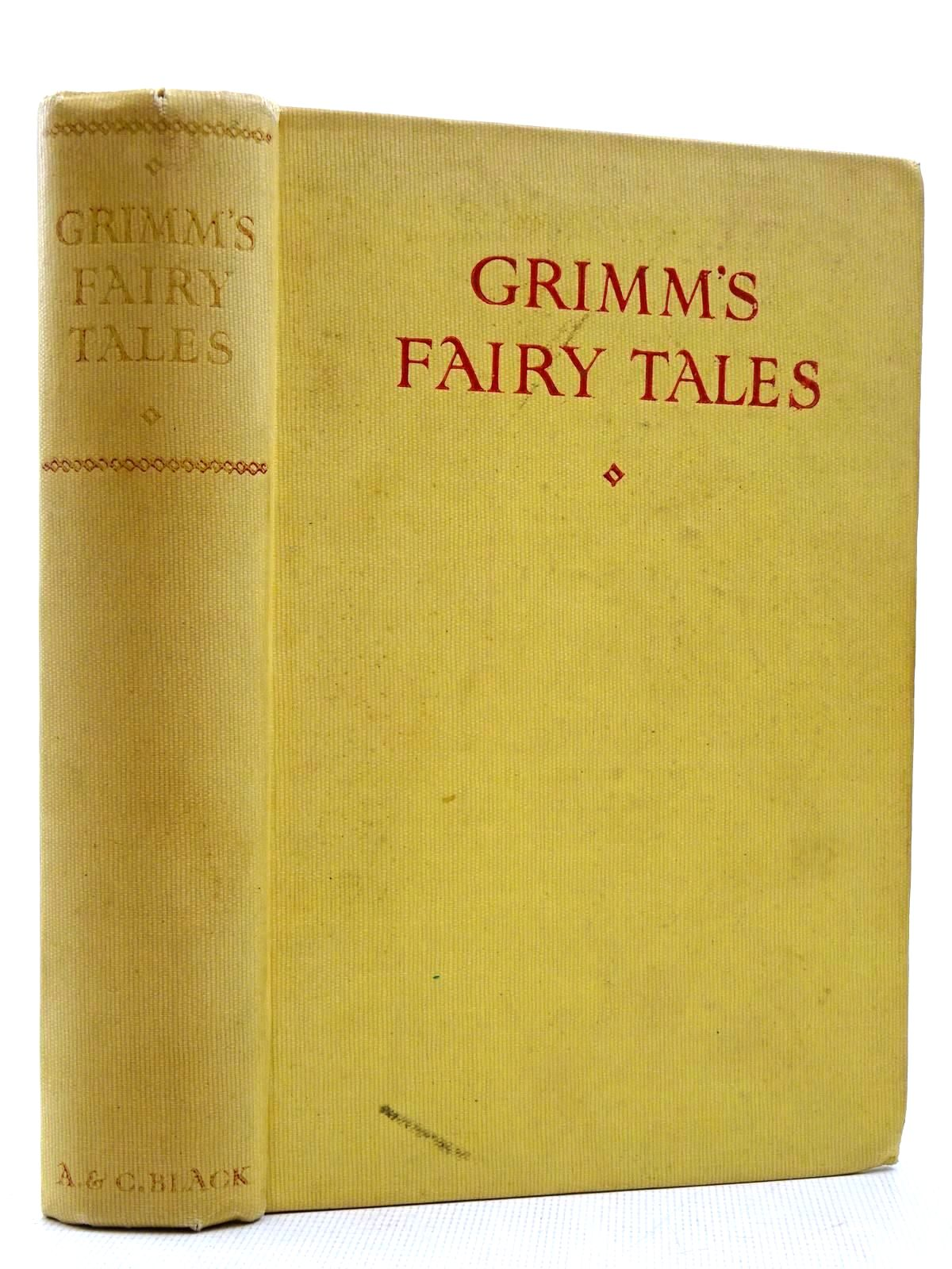 Photo of GRIMM'S FAIRY TALES written by Grimm, Brothers illustrated by Folkard, Charles published by Adam & Charles Black (STOCK CODE: 2129036)  for sale by Stella & Rose's Books