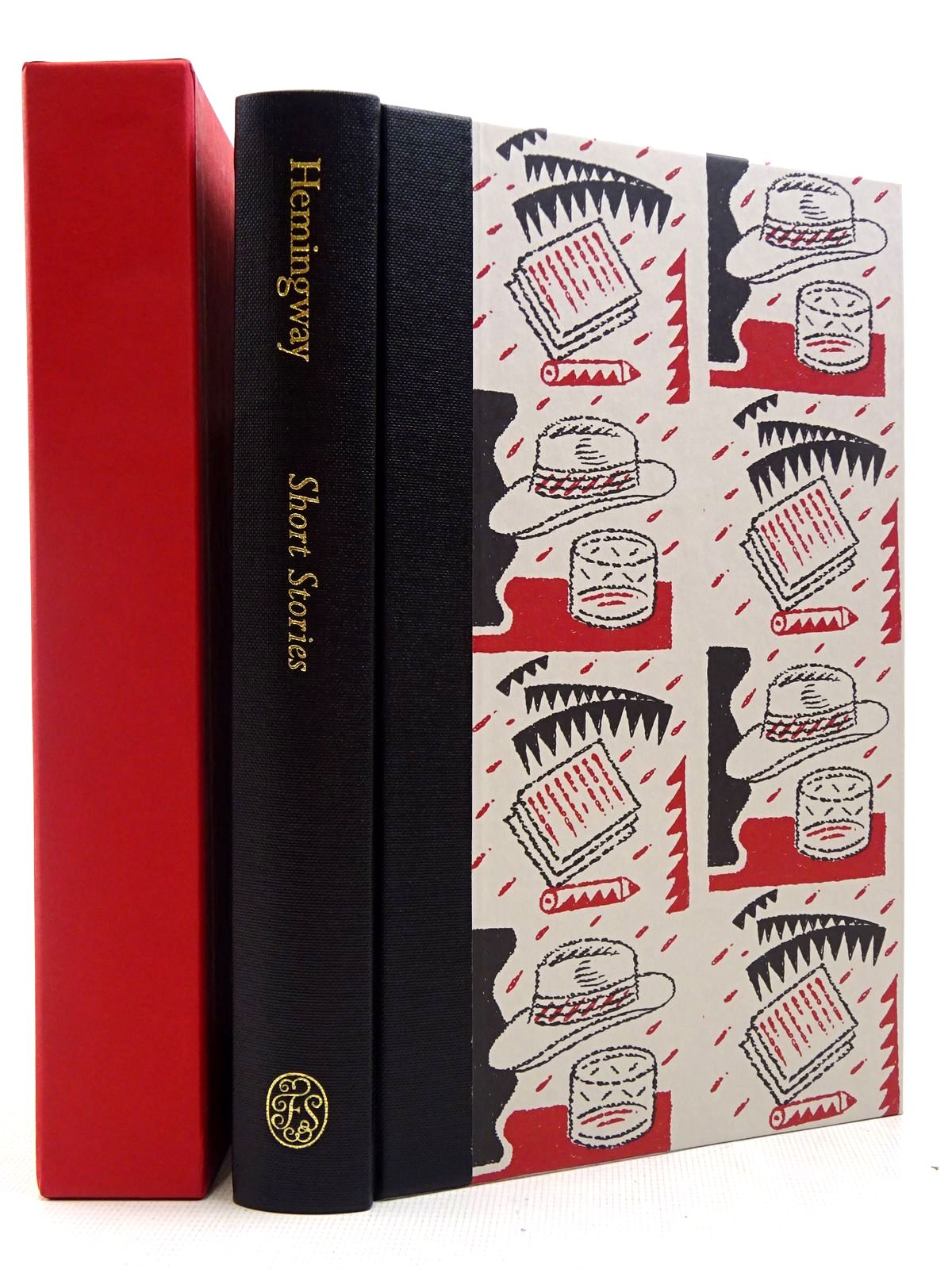 Photo of SHORT STORIES written by Hemingway, Ernest<br />Hughes, David illustrated by Beck, Ian published by Folio Society (STOCK CODE: 2129050)  for sale by Stella & Rose's Books