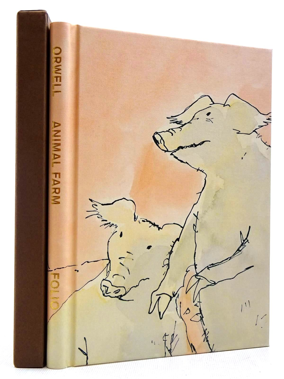 Photo of ANIMAL FARM written by Orwell, George illustrated by Blake, Quentin published by Folio Society (STOCK CODE: 2129056)  for sale by Stella & Rose's Books