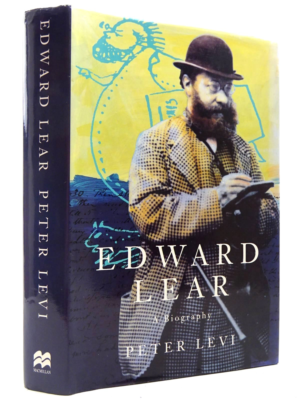 Photo of EDWARD LEAR A BIOGRAPHY written by Levi, Peter published by MacMillan (STOCK CODE: 2129115)  for sale by Stella & Rose's Books