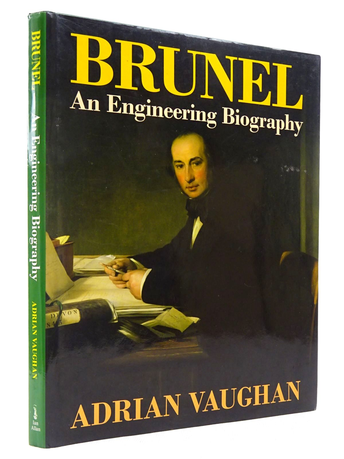 Photo of BRUNEL AN ENGINEERING BIOGRAPHY written by Vaughan, Adrian published by Ian Allan (STOCK CODE: 2129134)  for sale by Stella & Rose's Books