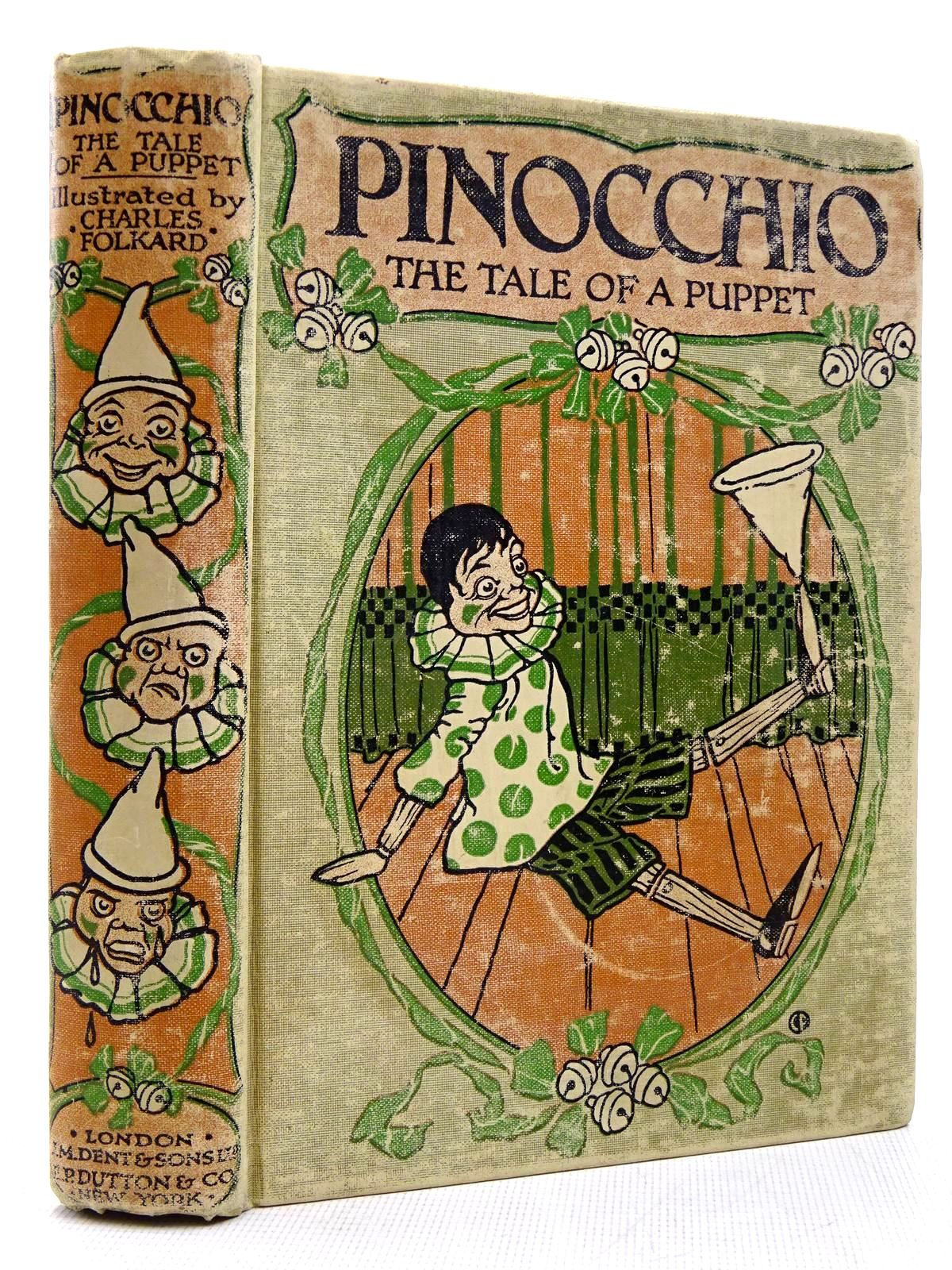 Photo of PINOCCHIO THE TALE OF A PUPPET written by Collodi, Carlo<br />Murray, M.A. illustrated by Folkard, Charles published by J.M. Dent & Sons Ltd. (STOCK CODE: 2129158)  for sale by Stella & Rose's Books