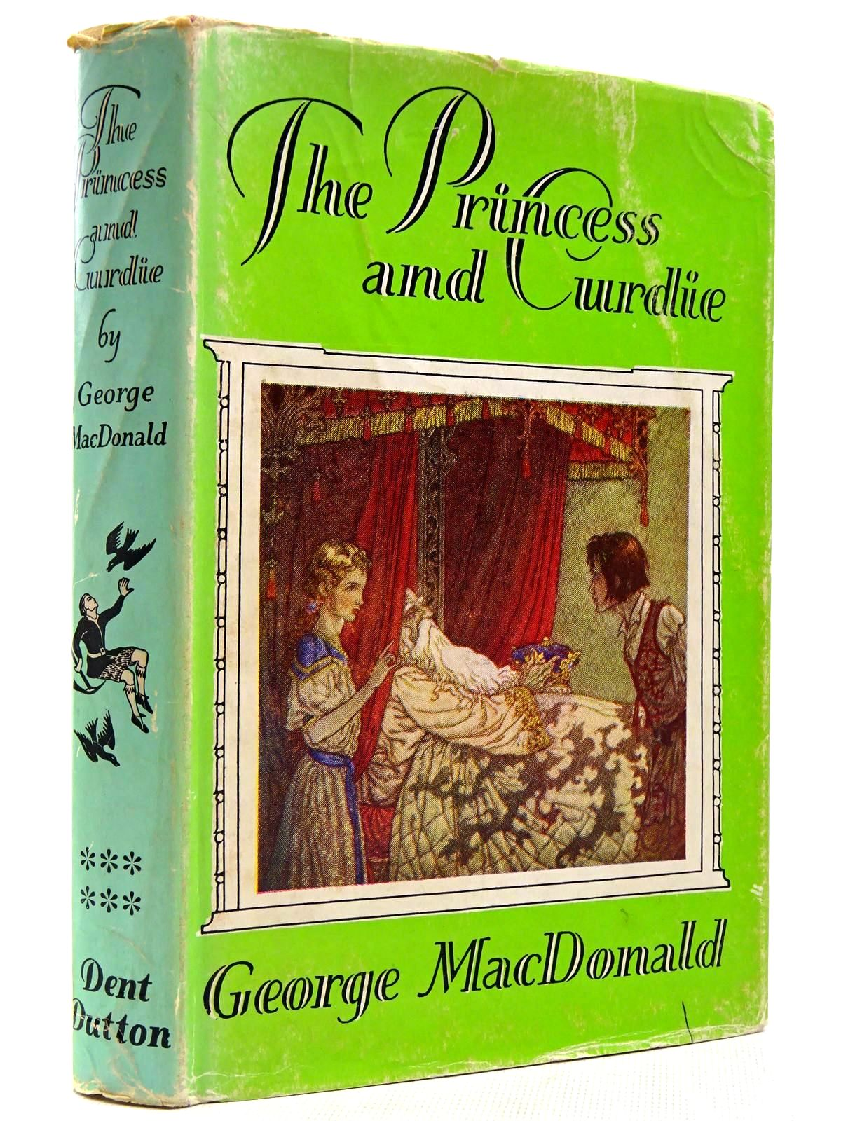 Photo of THE PRINCESS AND CURDIE written by MacDonald, George illustrated by Folkard, Charles published by J.M. Dent & Sons Ltd. (STOCK CODE: 2129159)  for sale by Stella & Rose's Books