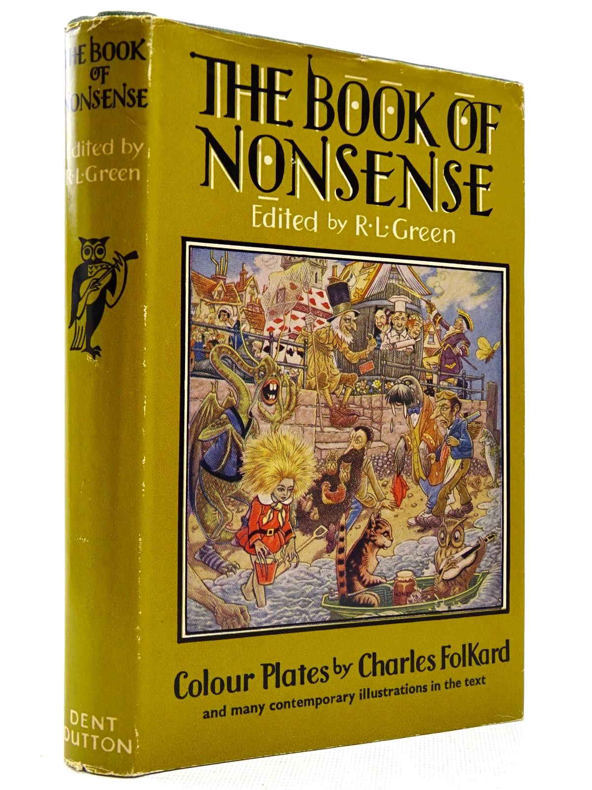 Photo of THE BOOK OF NONSENSE written by Green, Roger Lancelyn illustrated by Folkard, Charles published by J.M. Dent & Sons Ltd. (STOCK CODE: 2129160)  for sale by Stella & Rose's Books