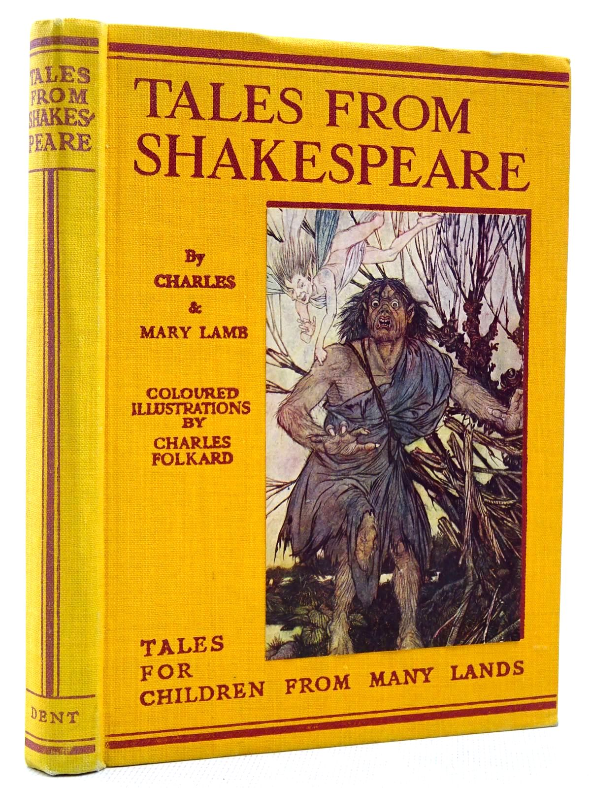 Photo of TALES FROM SHAKESPEARE written by Lamb, Charles<br />Lamb, Mary<br />Shakespeare, William illustrated by Folkard, Charles published by J.M. Dent & Sons Ltd., E.P. Dutton & Co. Inc. (STOCK CODE: 2129162)  for sale by Stella & Rose's Books