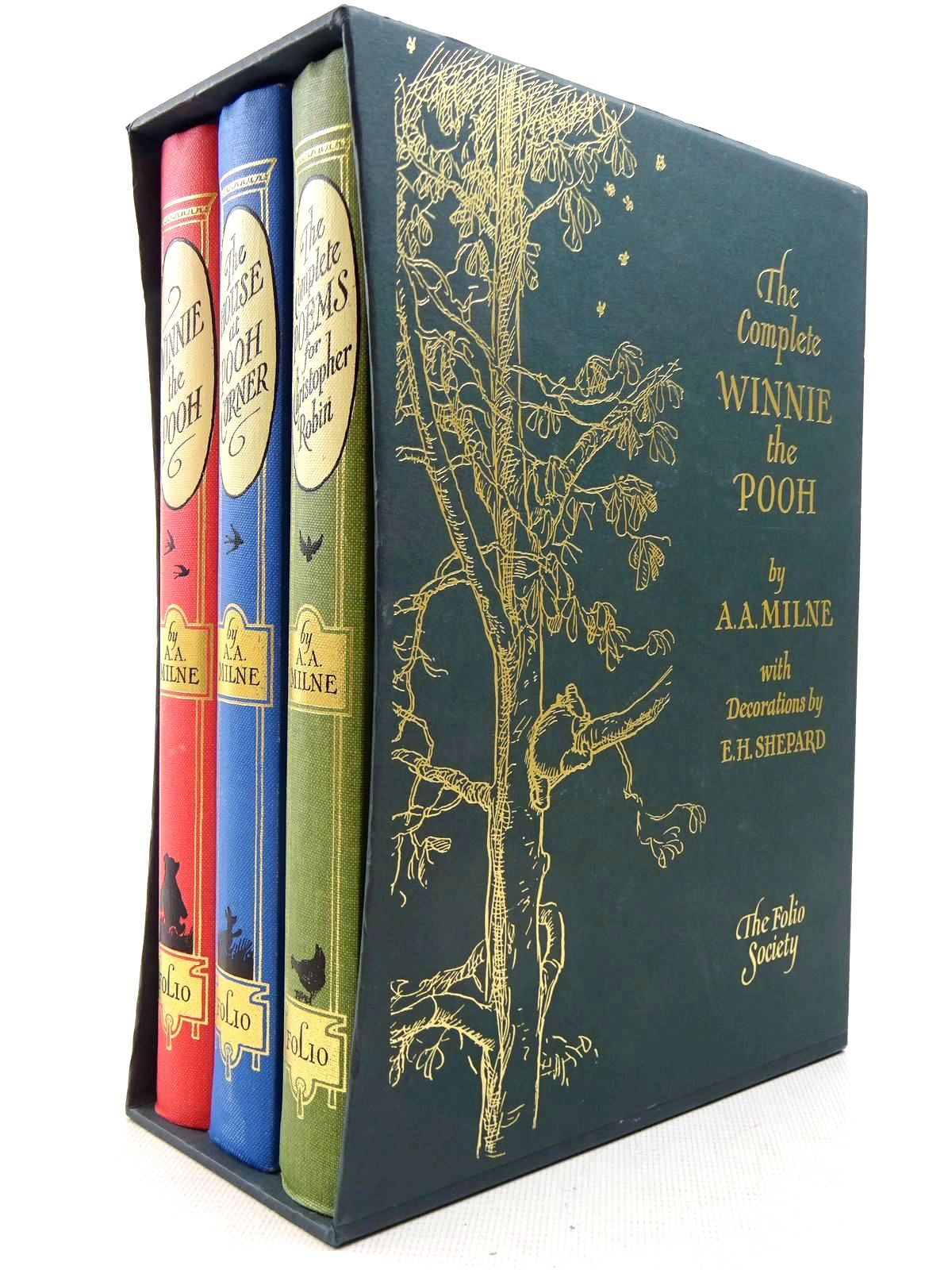 Photo of THE COMPLETE WINNIE THE POOH written by Milne, A.A. illustrated by Shepard, E.H. published by Folio Society (STOCK CODE: 2129187)  for sale by Stella & Rose's Books