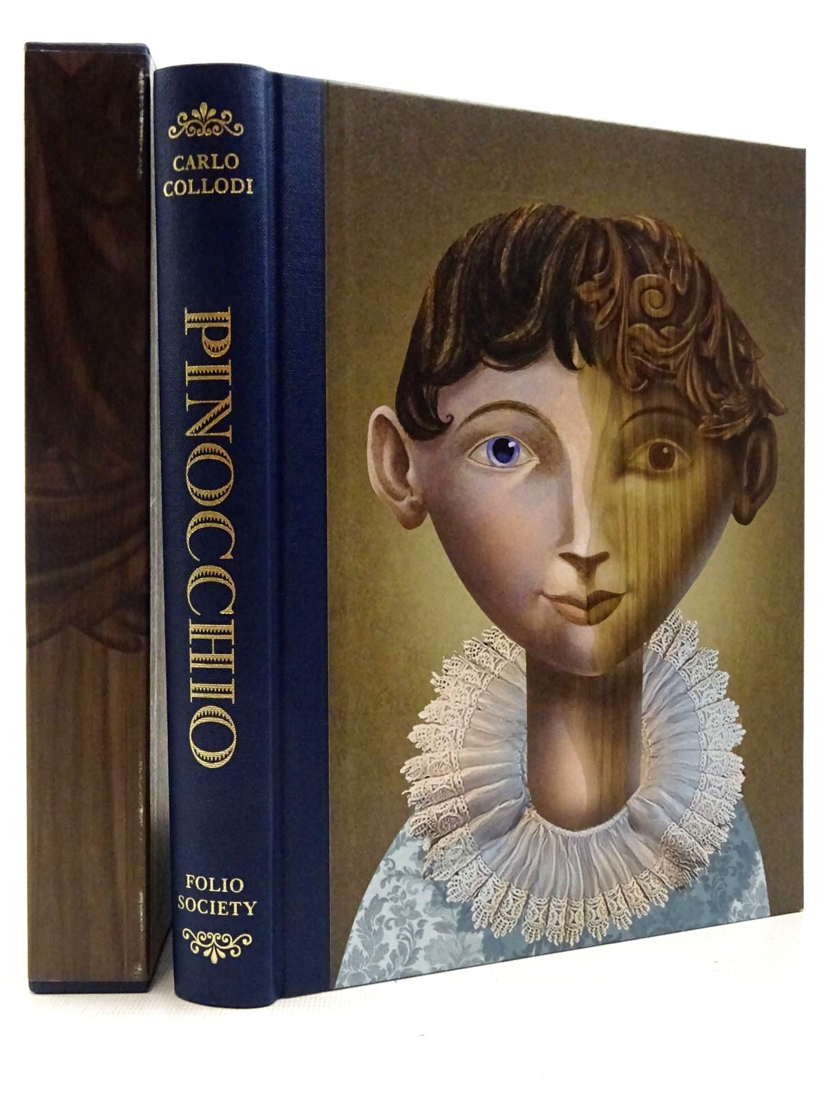Photo of PINOCCHIO written by Collodi, Carlo illustrated by Baker-Smith, Grahame published by Folio Society (STOCK CODE: 2129190)  for sale by Stella & Rose's Books