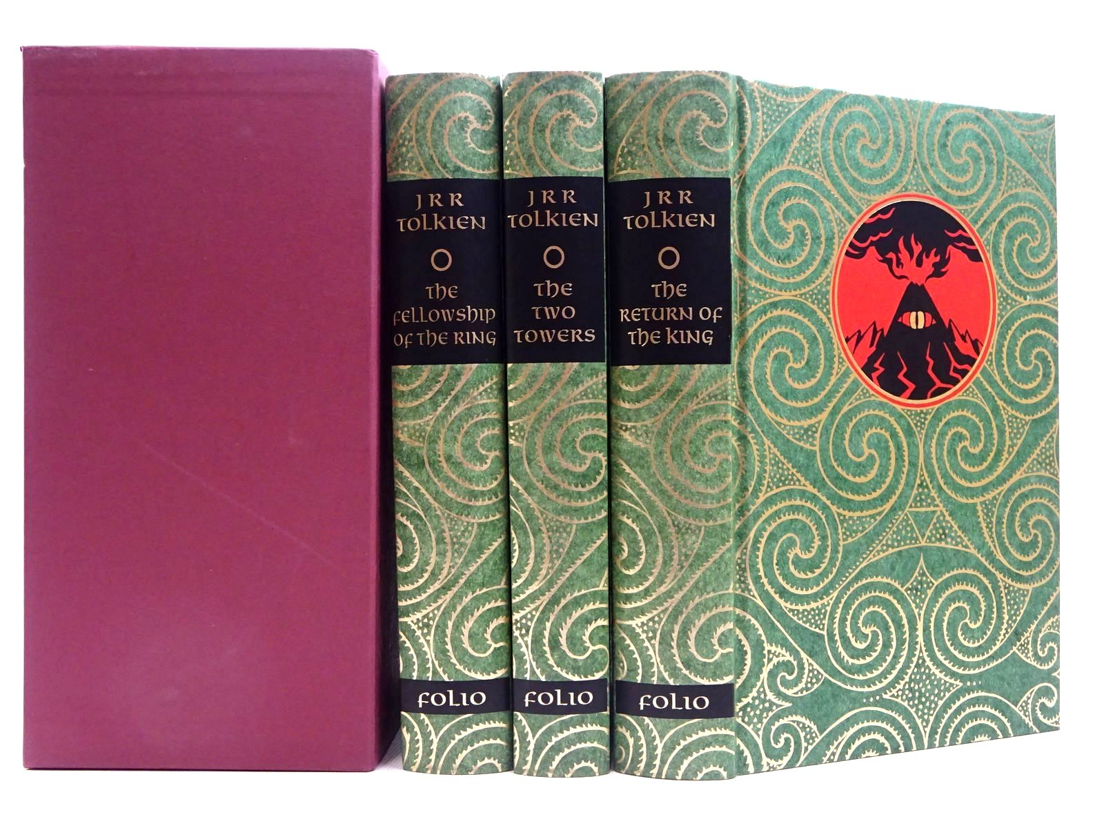 Photo of THE LORD OF THE RINGS written by Tolkien, J.R.R. illustrated by Grathmer, Ingahild<br />Fraser, Eric published by Folio Society (STOCK CODE: 2129209)  for sale by Stella & Rose's Books