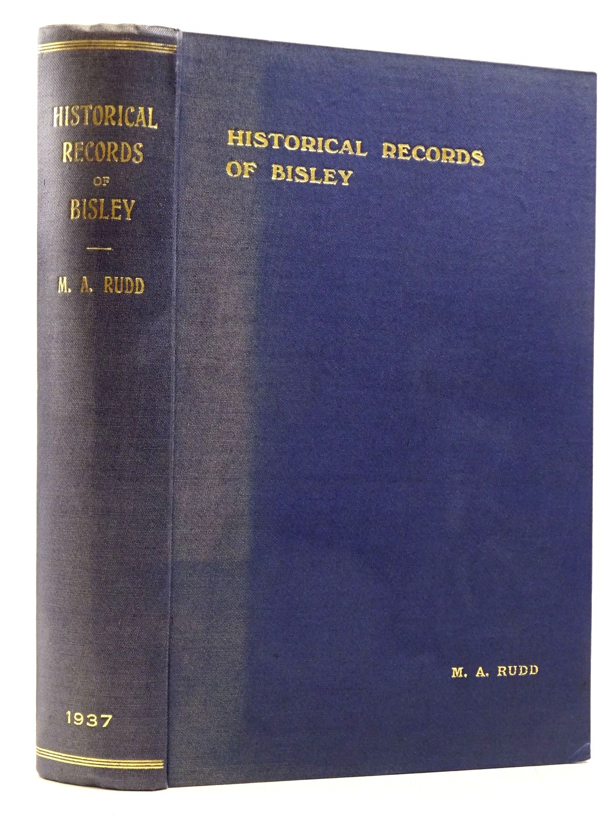 Photo of HISTORICAL RECORDS OF BISLEY WITH LYPIATT GLOUCESTERSHIRE written by Rudd, Mary A. (STOCK CODE: 2129218)  for sale by Stella & Rose's Books