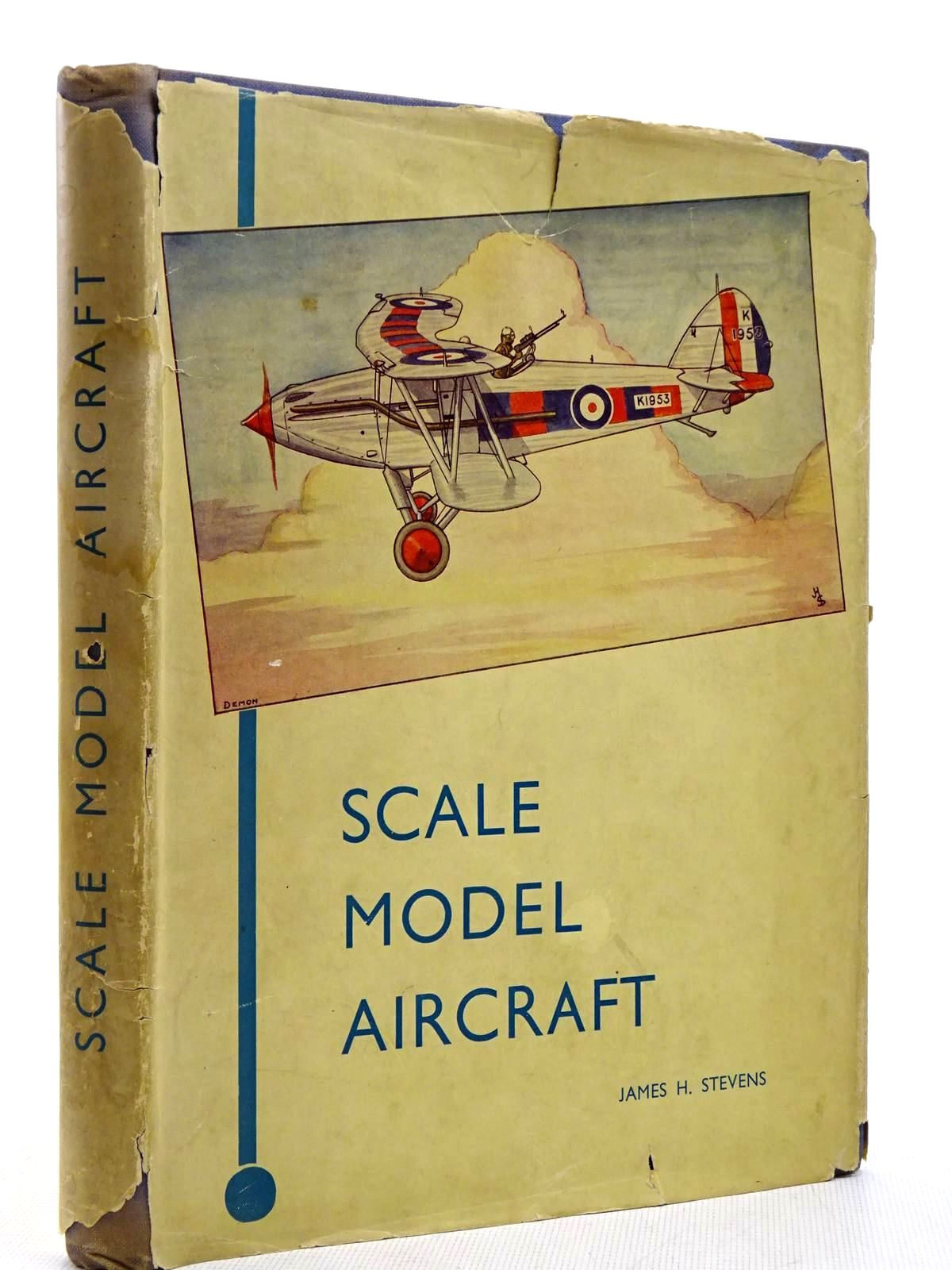 Photo of SCALE MODEL AIRCRAFT written by Stevens, James Hay illustrated by Stevens, James Hay published by John Hamilton Ltd. (STOCK CODE: 2129224)  for sale by Stella & Rose's Books