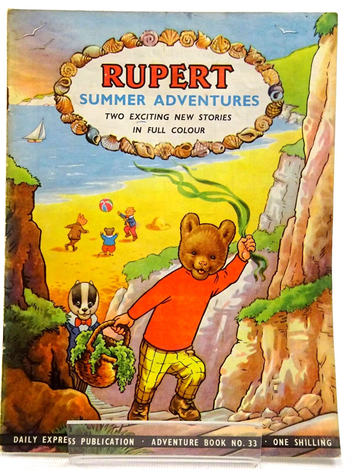 Photo of RUPERT ADVENTURE BOOK No. 33 - SUMMER ADVENTURES written by Bestall, Alfred published by Daily Express, Oldbourne Book Co. Ltd. (STOCK CODE: 2129235)  for sale by Stella & Rose's Books