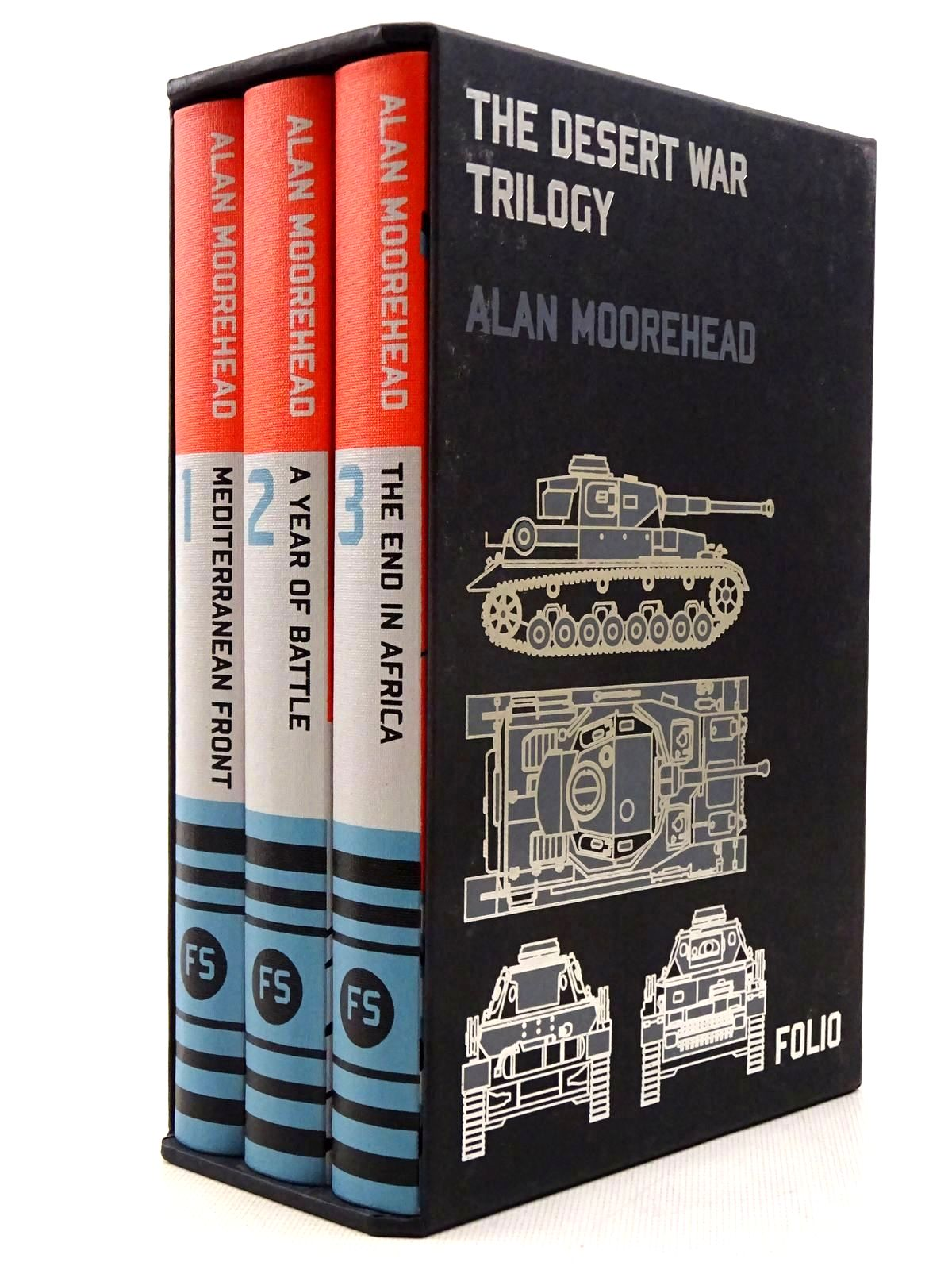 Photo of THE DESERT WAR TRILOGY (3 VOLUMES) written by Moorehead, Alan published by Folio Society (STOCK CODE: 2129254)  for sale by Stella & Rose's Books