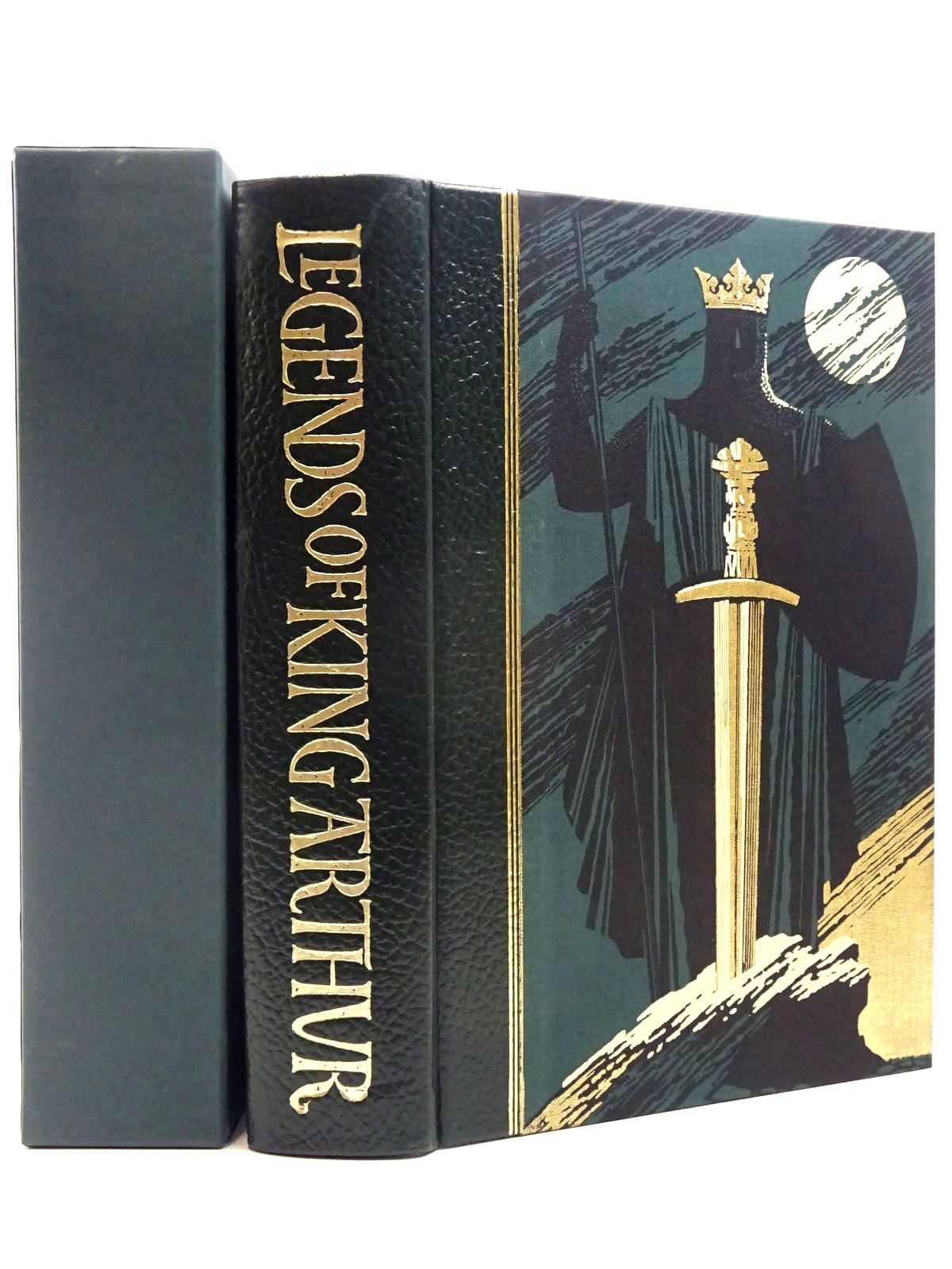 Photo of LEGENDS OF KING ARTHUR written by Barber, Richard illustrated by Pisarev, Roman published by Folio Society (STOCK CODE: 2129259)  for sale by Stella & Rose's Books