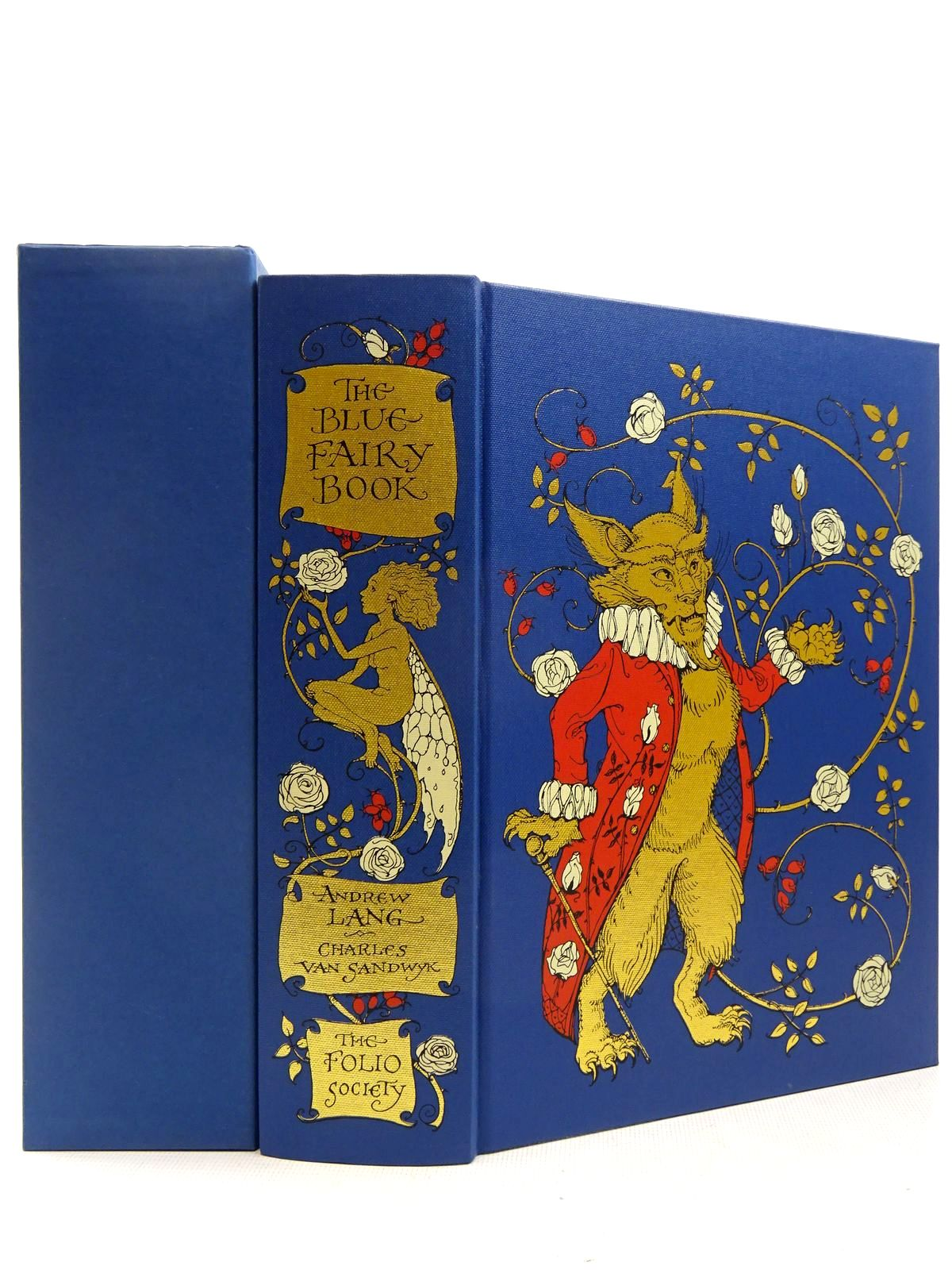 Photo of THE BLUE FAIRY BOOK written by Lang, Andrew<br />Aiken, Joan illustrated by Van Sandwyk, Charles published by Folio Society (STOCK CODE: 2129268)  for sale by Stella & Rose's Books