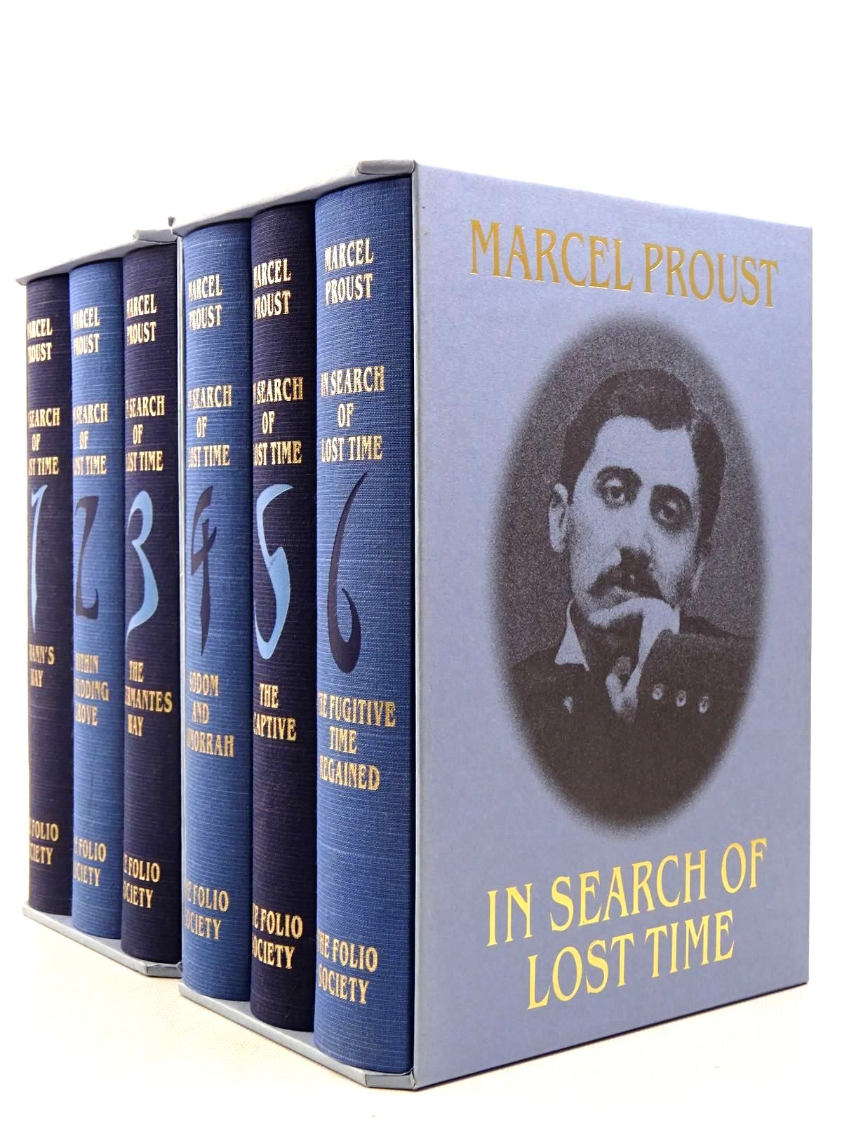 Photo of IN SEARCH OF LOST TIME (6 VOLUMES) written by Proust, Marcel<br />Moncrieff, C.K. Scott<br />Enright, D.J. published by Folio Society (STOCK CODE: 2129270)  for sale by Stella & Rose's Books