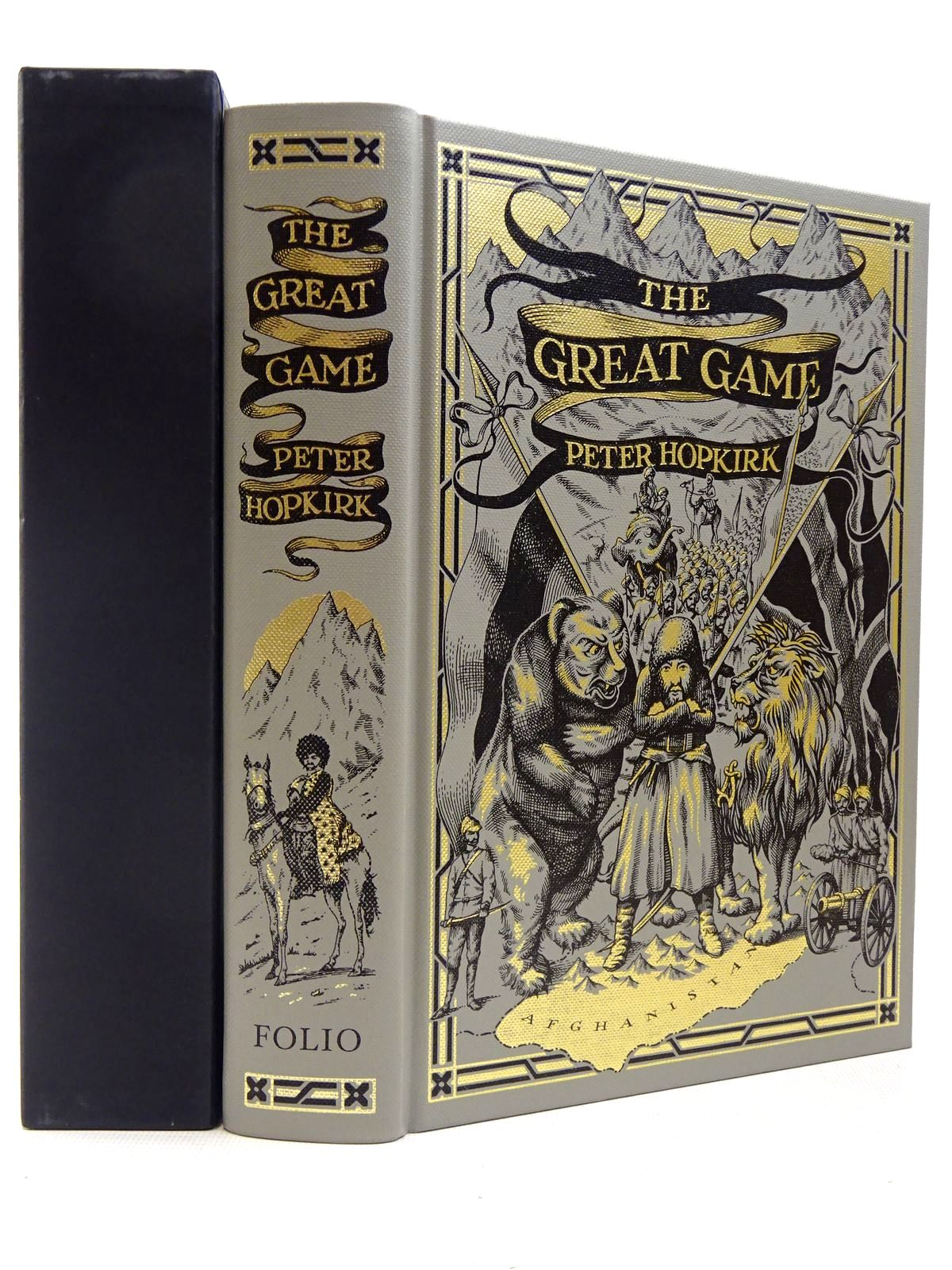 Photo of THE GREAT GAME written by Hopkirk, Peter published by Folio Society (STOCK CODE: 2129289)  for sale by Stella & Rose's Books