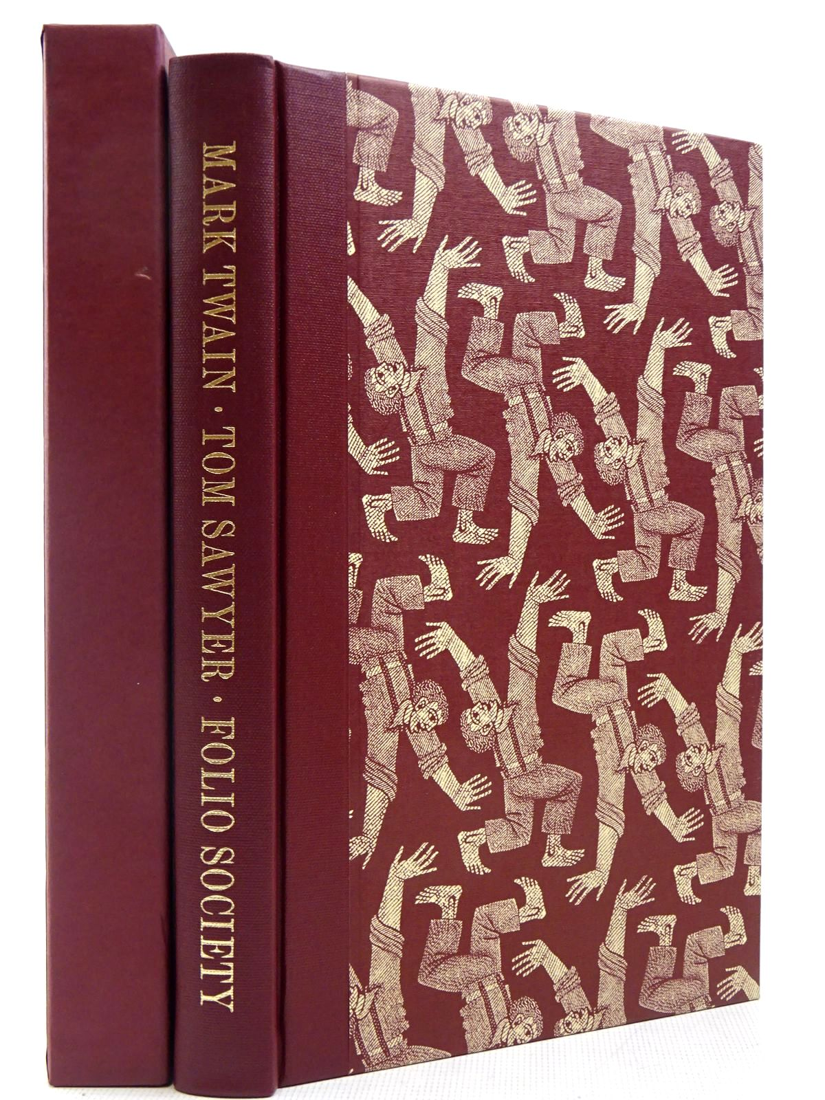 Photo of THE ADVENTURES OF TOM SAWYER written by Twain, Mark illustrated by Brockway, Harry published by Folio Society (STOCK CODE: 2129290)  for sale by Stella & Rose's Books