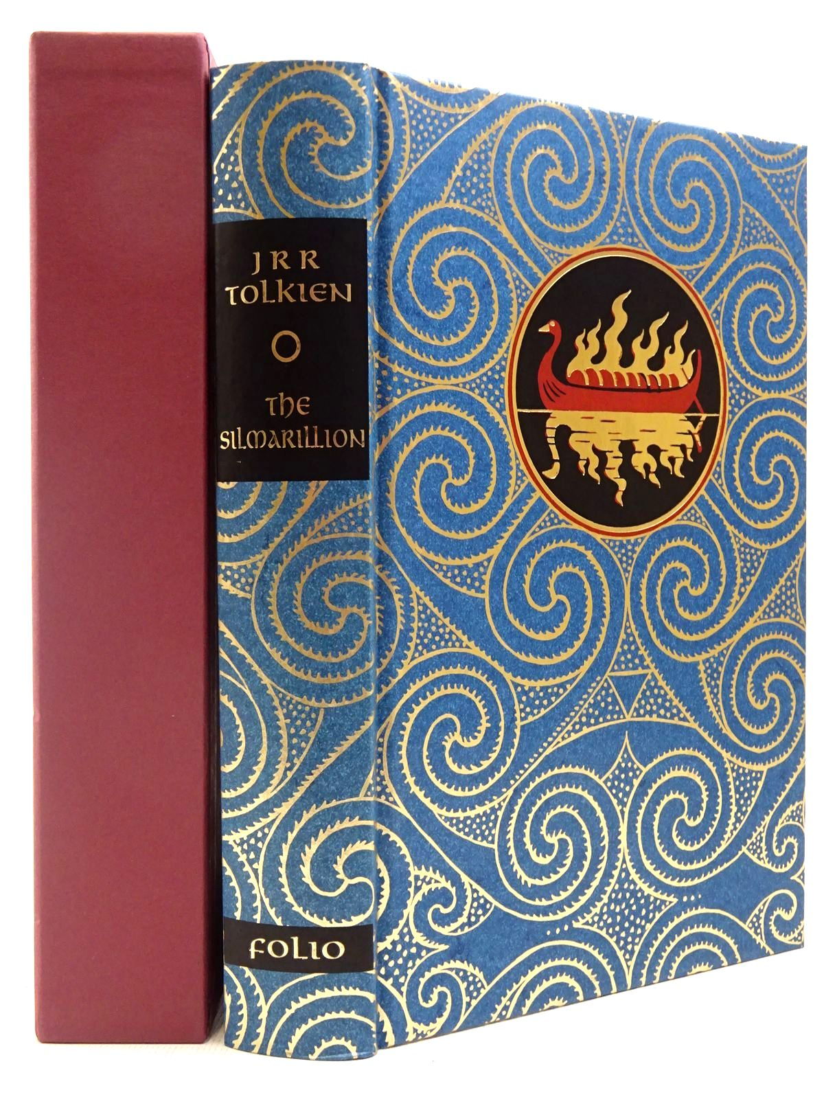 Photo of THE SILMARILLION written by Tolkien, J.R.R.<br />Tolkien, Christopher illustrated by Mosley, Francis published by Folio Society (STOCK CODE: 2129295)  for sale by Stella & Rose's Books