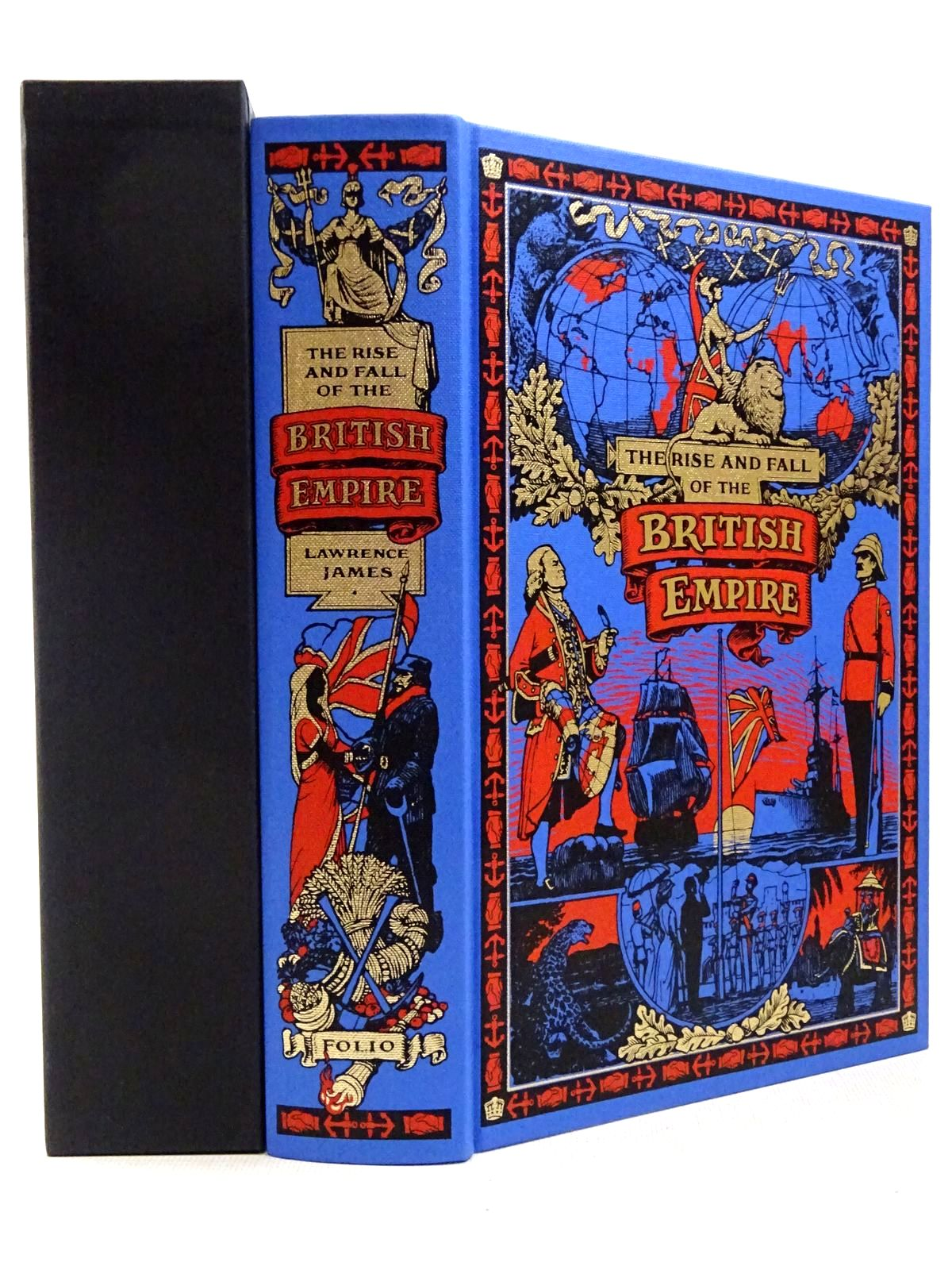 Photo of THE RISE AND FALL OF THE BRITISH EMPIRE written by James, Lawrence published by Folio Society (STOCK CODE: 2129307)  for sale by Stella & Rose's Books