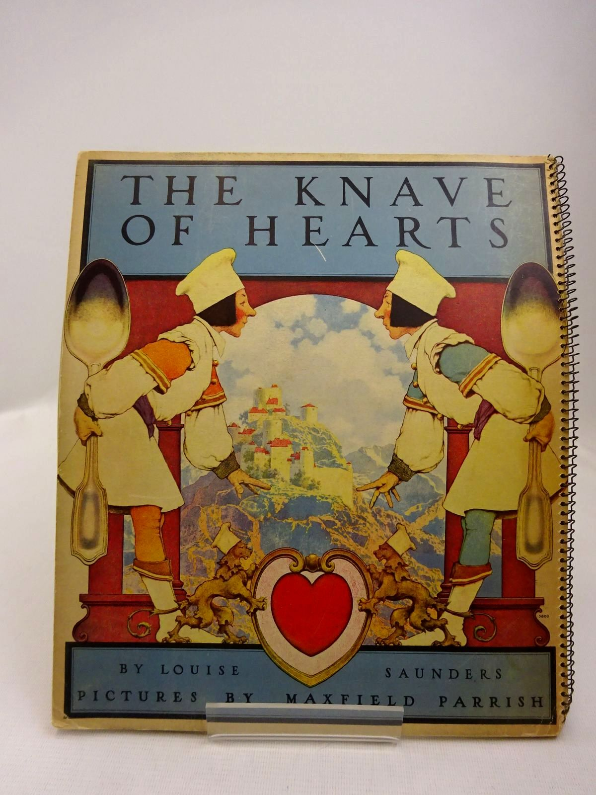 Photo of THE KNAVE OF HEARTS written by Saunders, Louise illustrated by Parrish, Maxfield published by Artists & Writers Guild (STOCK CODE: 2129317)  for sale by Stella & Rose's Books