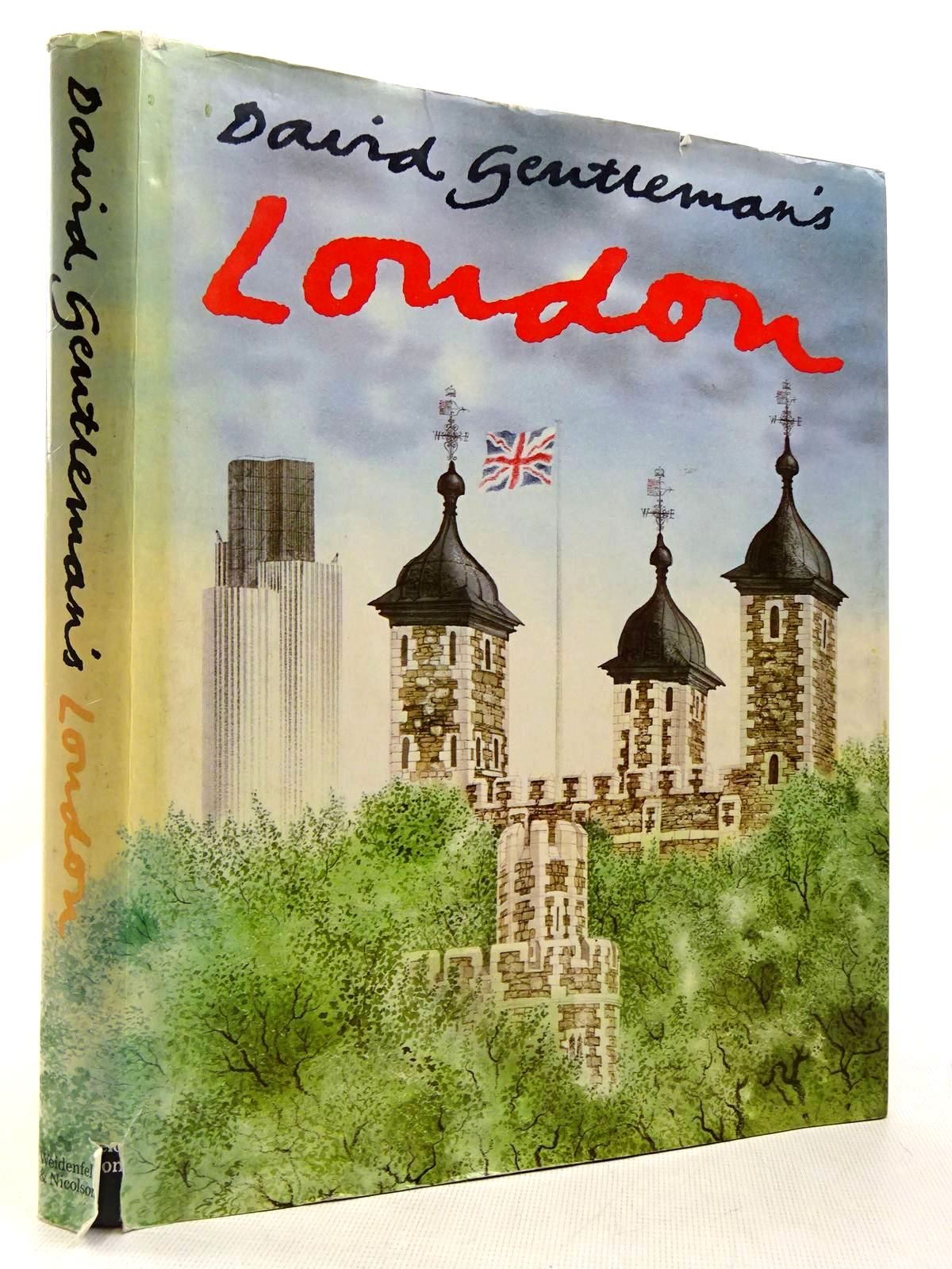 Photo of DAVID GENTLEMAN'S LONDON written by Gentleman, David illustrated by Gentleman, David published by Weidenfeld and Nicolson (STOCK CODE: 2129321)  for sale by Stella & Rose's Books