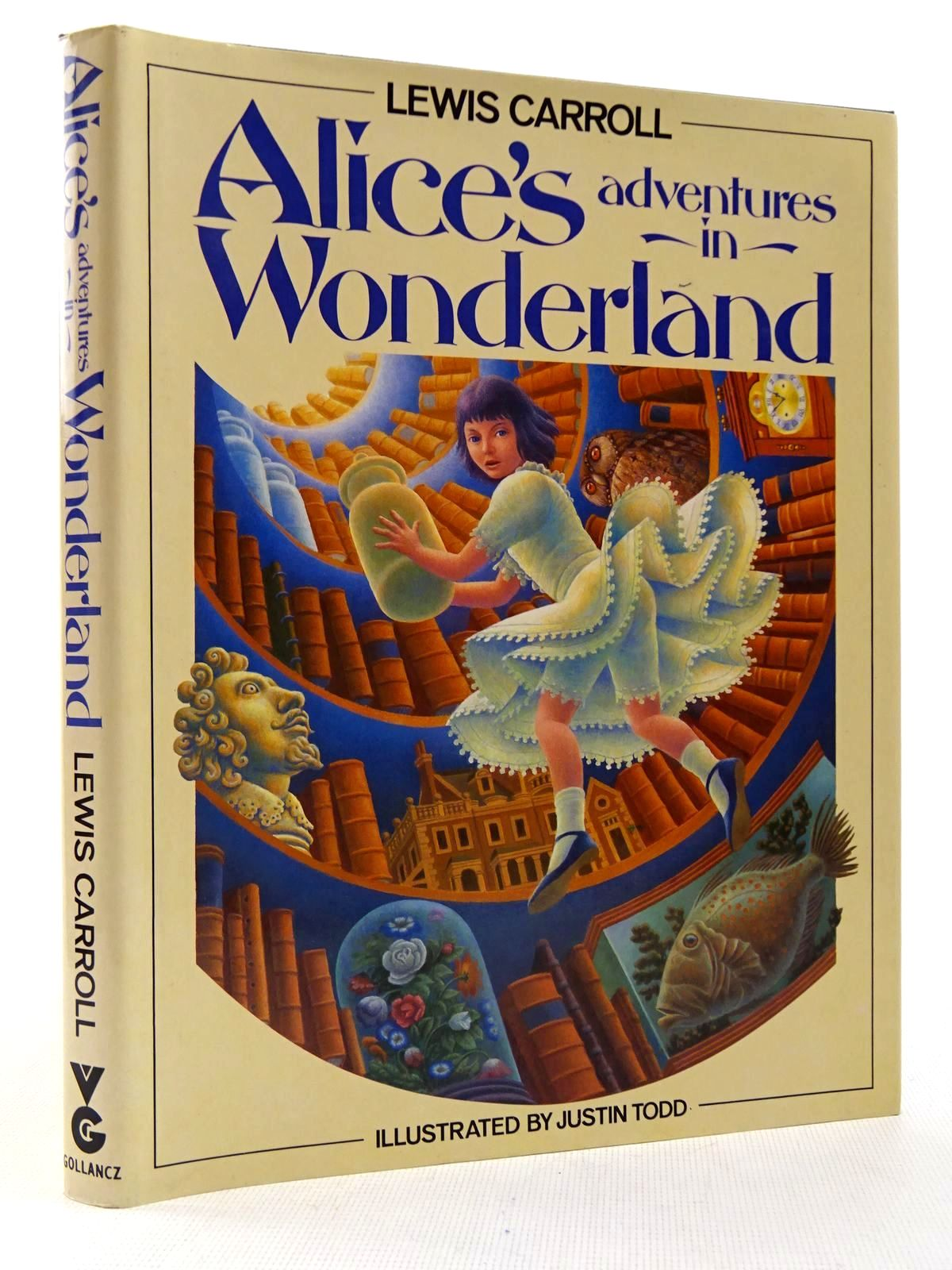 Photo of ALICE'S ADVENTURES IN WONDERLAND written by Carroll, Lewis illustrated by Todd, Justin published by Victor Gollancz Ltd. (STOCK CODE: 2129335)  for sale by Stella & Rose's Books
