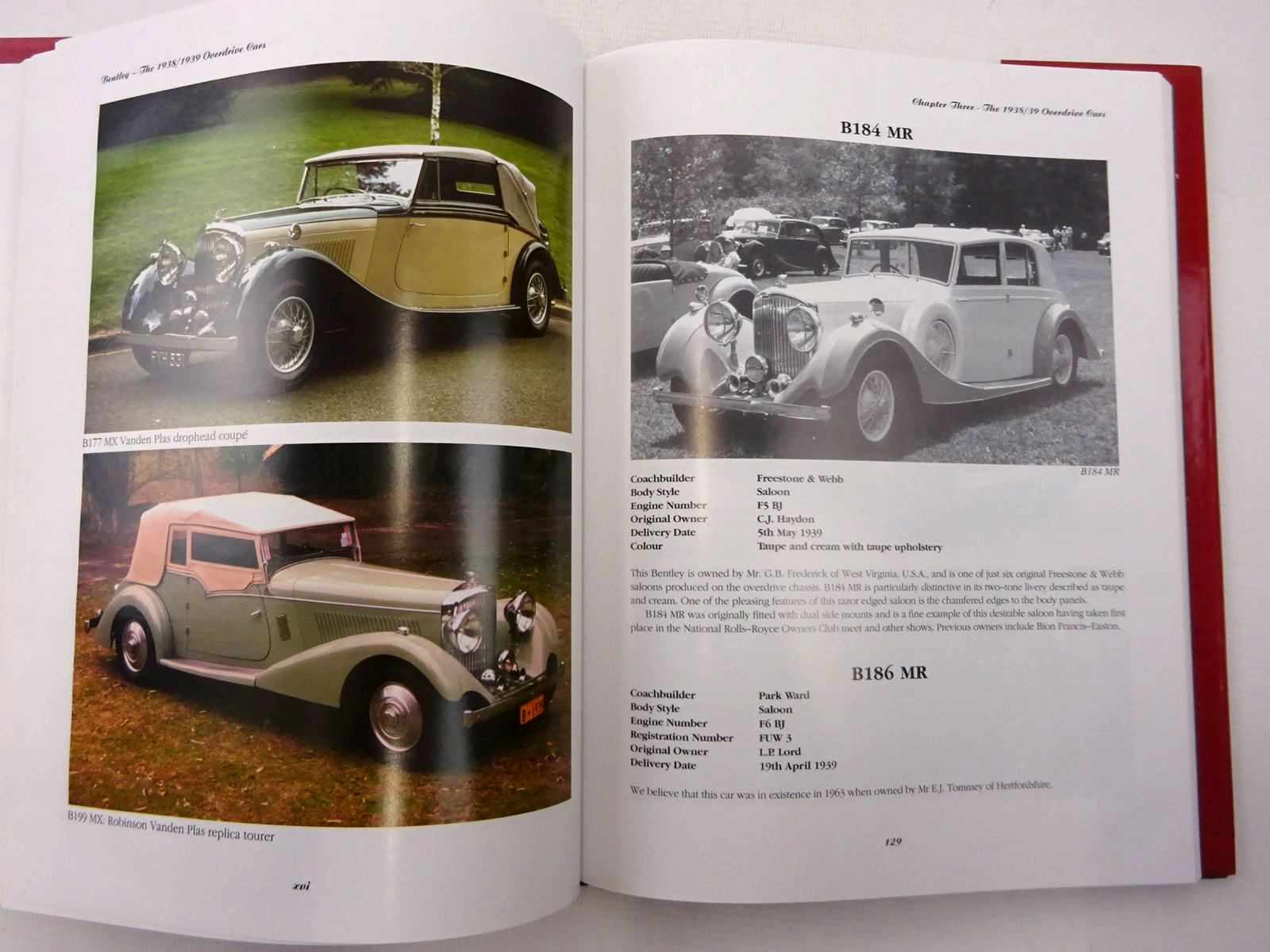 Photo of BENTLEY THE 1938/1939 OVERDRIVE CARS written by Frankel, Mervyn<br />Strang, Ian published by Academy Books (STOCK CODE: 2129338)  for sale by Stella & Rose's Books