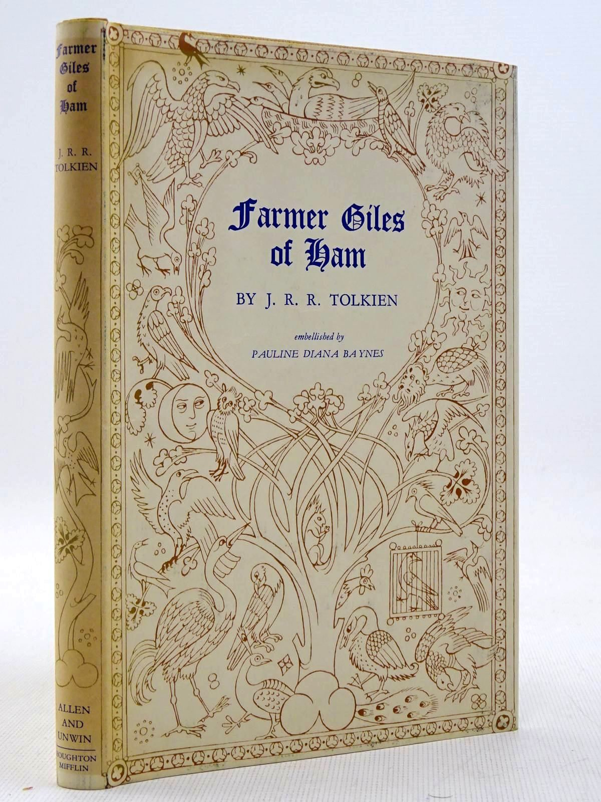 Photo of FARMER GILES OF HAM written by Tolkien, J.R.R. illustrated by Baynes, Pauline published by George Allen & Unwin Ltd., Houghton Mifflin Company (STOCK CODE: 2129347)  for sale by Stella & Rose's Books