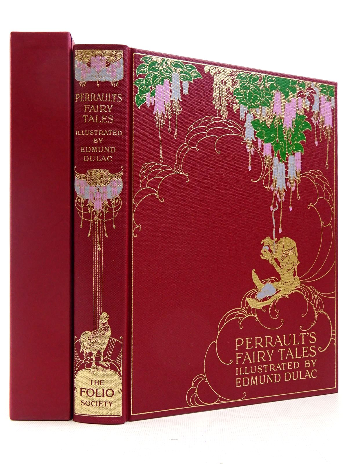 Photo of THE FAIRY TALES OF CHARLES PERRAULT written by Perrault, Charles illustrated by Dulac, Edmund published by Folio Society (STOCK CODE: 2129354)  for sale by Stella & Rose's Books