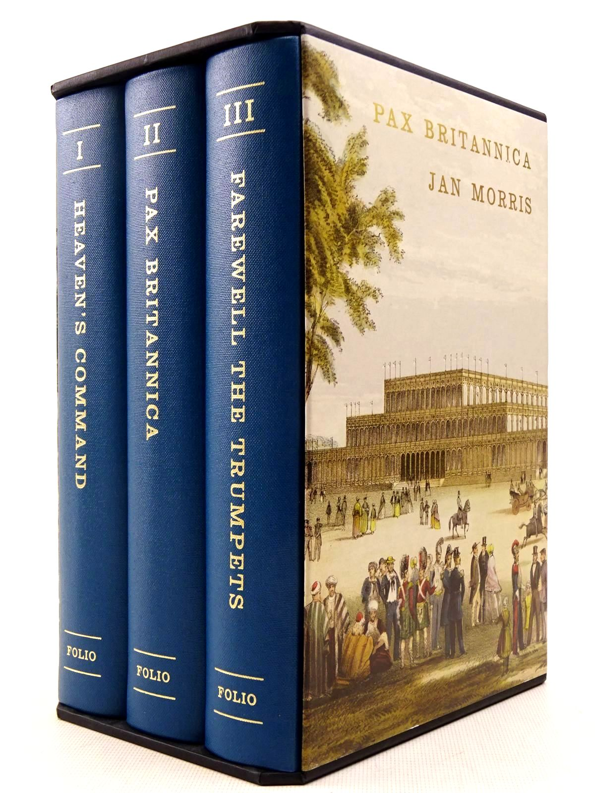 Photo of PAX BRITANNICA (3 VOLUMES) written by Morris, James published by Folio Society (STOCK CODE: 2129360)  for sale by Stella & Rose's Books