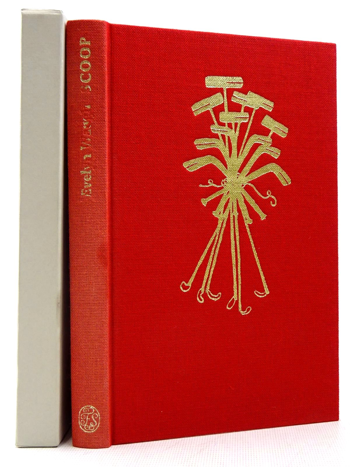 Photo of SCOOP written by Waugh, Evelyn<br />Cameron, James illustrated by Blake, Quentin published by Folio Society (STOCK CODE: 2129362)  for sale by Stella & Rose's Books