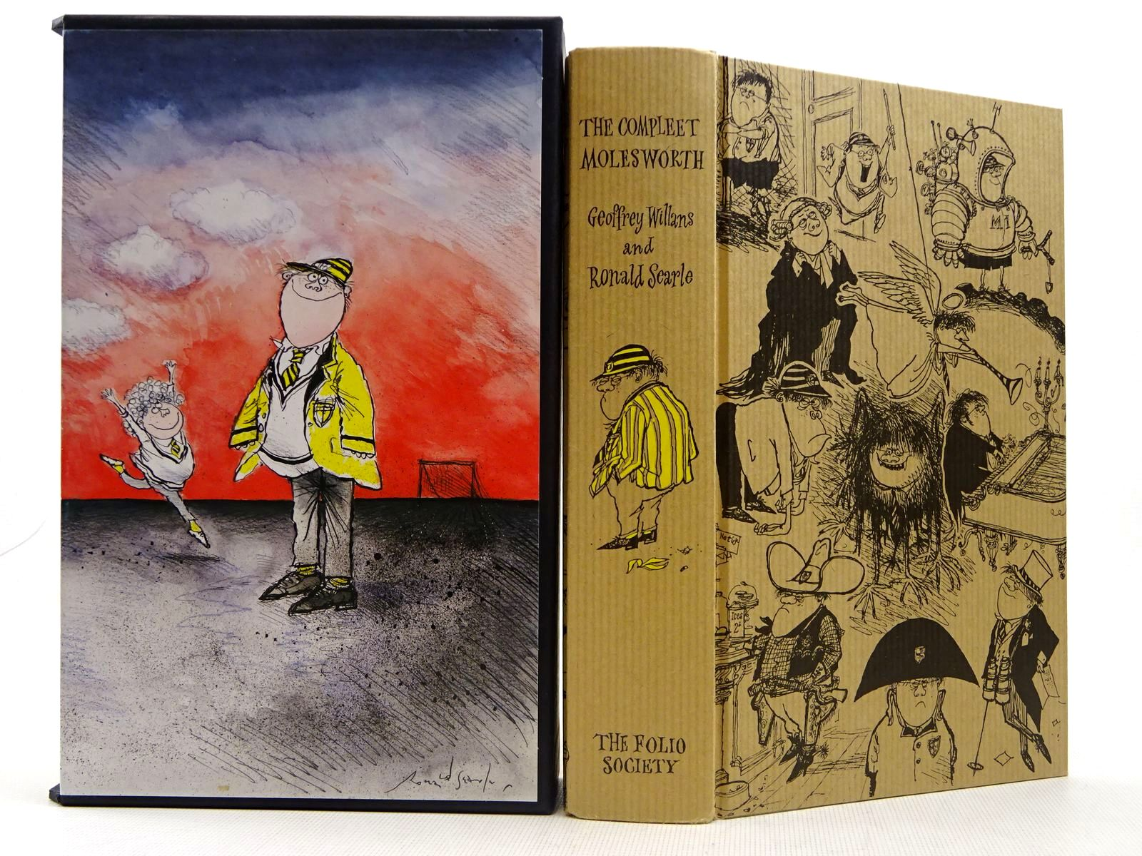 Photo of THE COMPLEET MOLESWORTH written by Willans, Geoffrey illustrated by Searle, Ronald published by Folio Society (STOCK CODE: 2129380)  for sale by Stella & Rose's Books