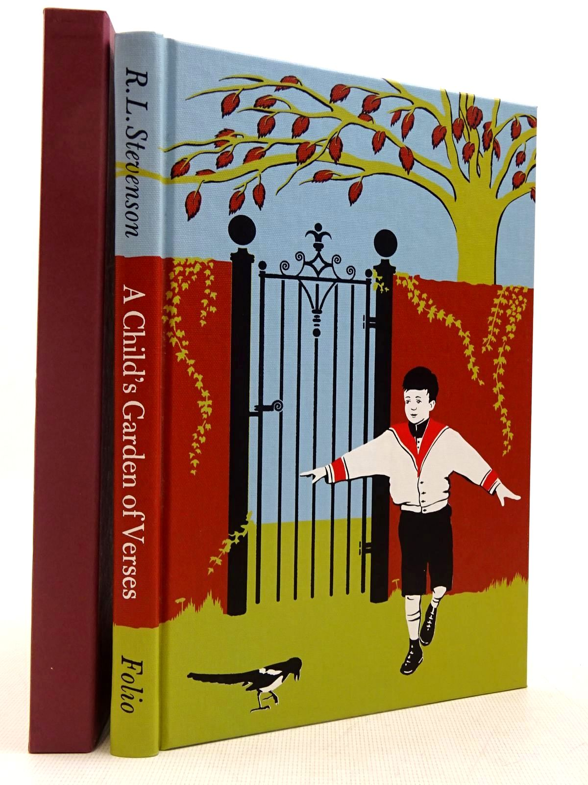Photo of A CHILD'S GARDEN OF VERSES written by Stevenson, Robert Louis illustrated by Smithson, Helen published by Folio Society (STOCK CODE: 2129382)  for sale by Stella & Rose's Books