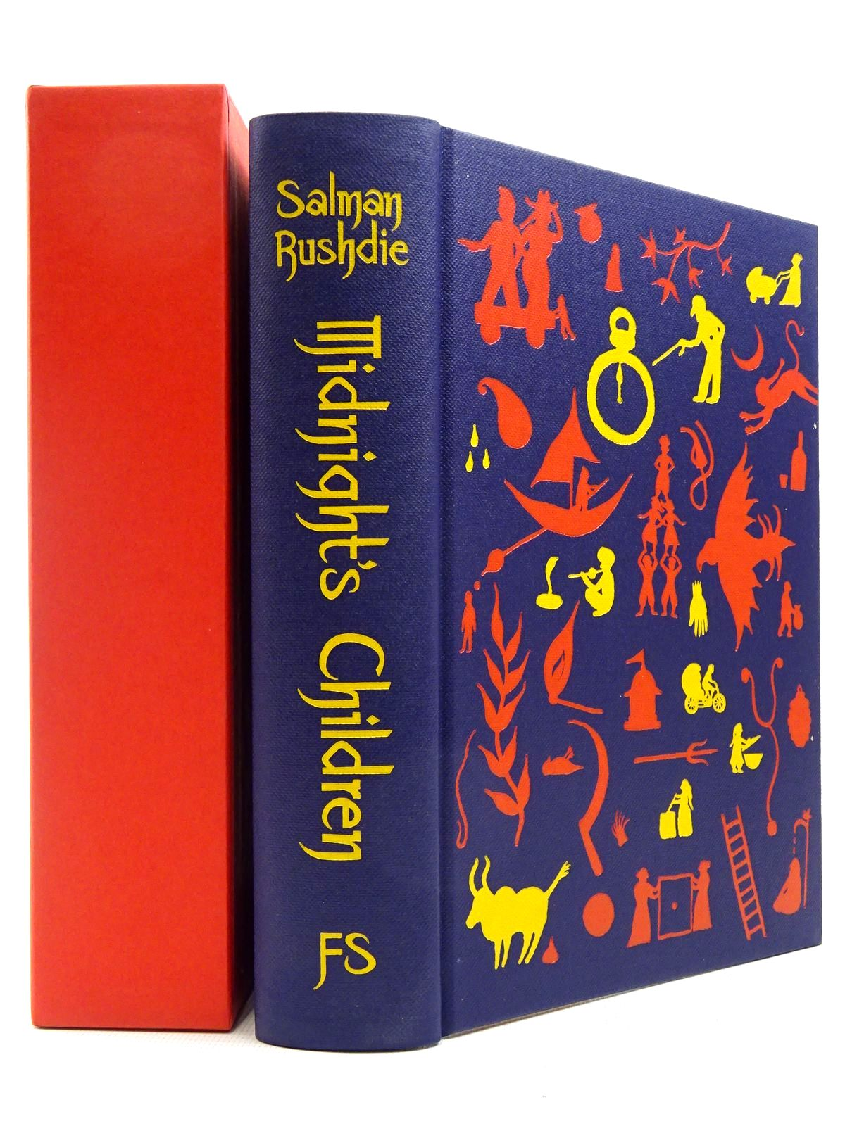Photo of MIDNIGHT'S CHILDREN written by Rushdie, Salman illustrated by Bhushan, Anna published by Folio Society (STOCK CODE: 2129384)  for sale by Stella & Rose's Books