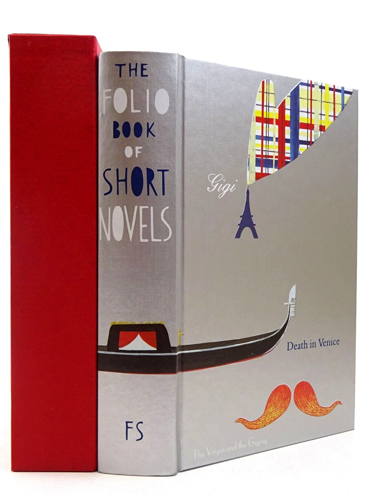 Photo of THE FOLIO BOOK OF SHORT NOVELS written by James, Henry<br />London, Jack<br />Mann, Thomas<br />Lawrence, D.H.<br />Colette,  illustrated by Fanelli, Sara published by Folio Society (STOCK CODE: 2129391)  for sale by Stella & Rose's Books