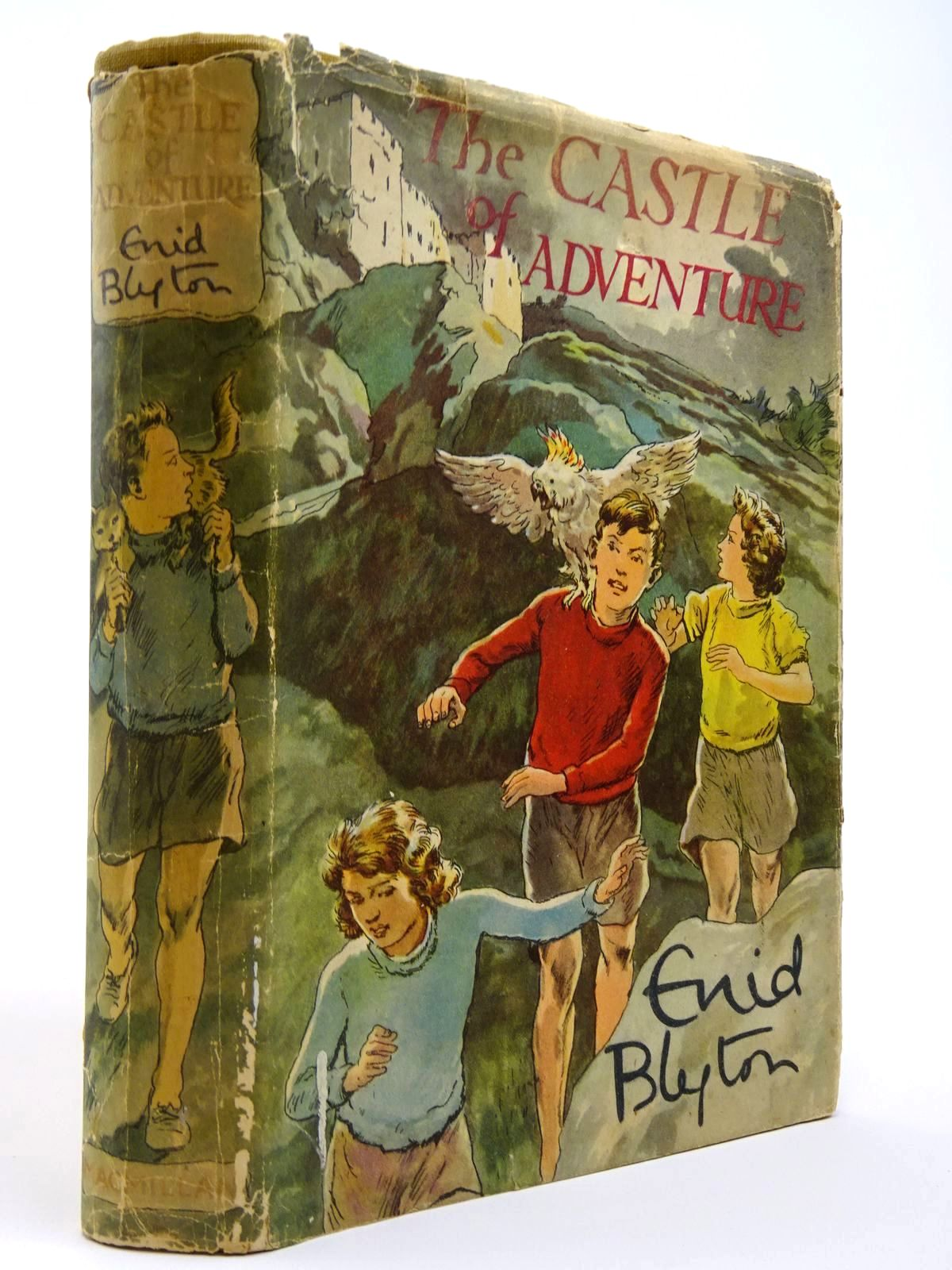 Photo of THE CASTLE OF ADVENTURE written by Blyton, Enid illustrated by Tresilian, Stuart published by Macmillan & Co. Ltd. (STOCK CODE: 2129414)  for sale by Stella & Rose's Books