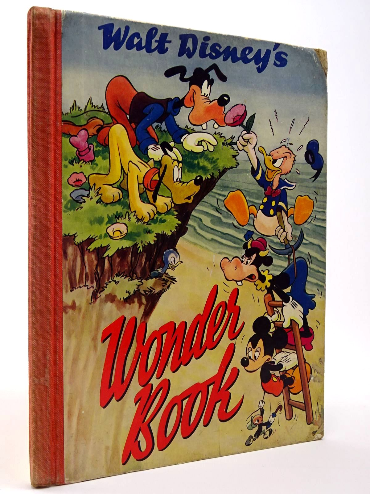 Photo of WALT DISNEY'S WONDER BOOK written by Disney, Walt illustrated by Disney, Walt published by The Sunshine Press (STOCK CODE: 2129445)  for sale by Stella & Rose's Books