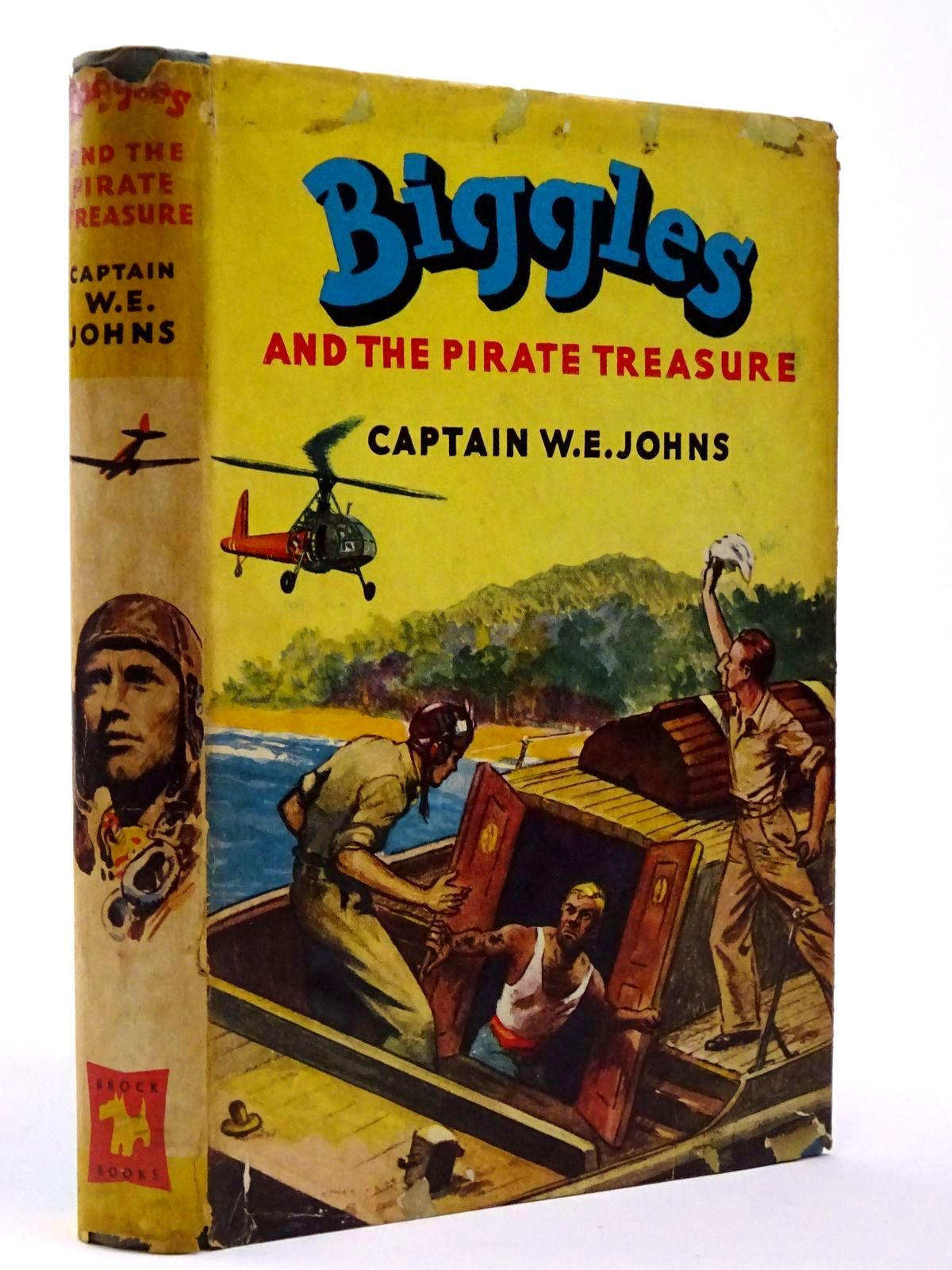 Photo of BIGGLES AND THE PIRATE TREASURE written by Johns, W.E. illustrated by Stead, Leslie published by Brockhampton Press (STOCK CODE: 2129460)  for sale by Stella & Rose's Books
