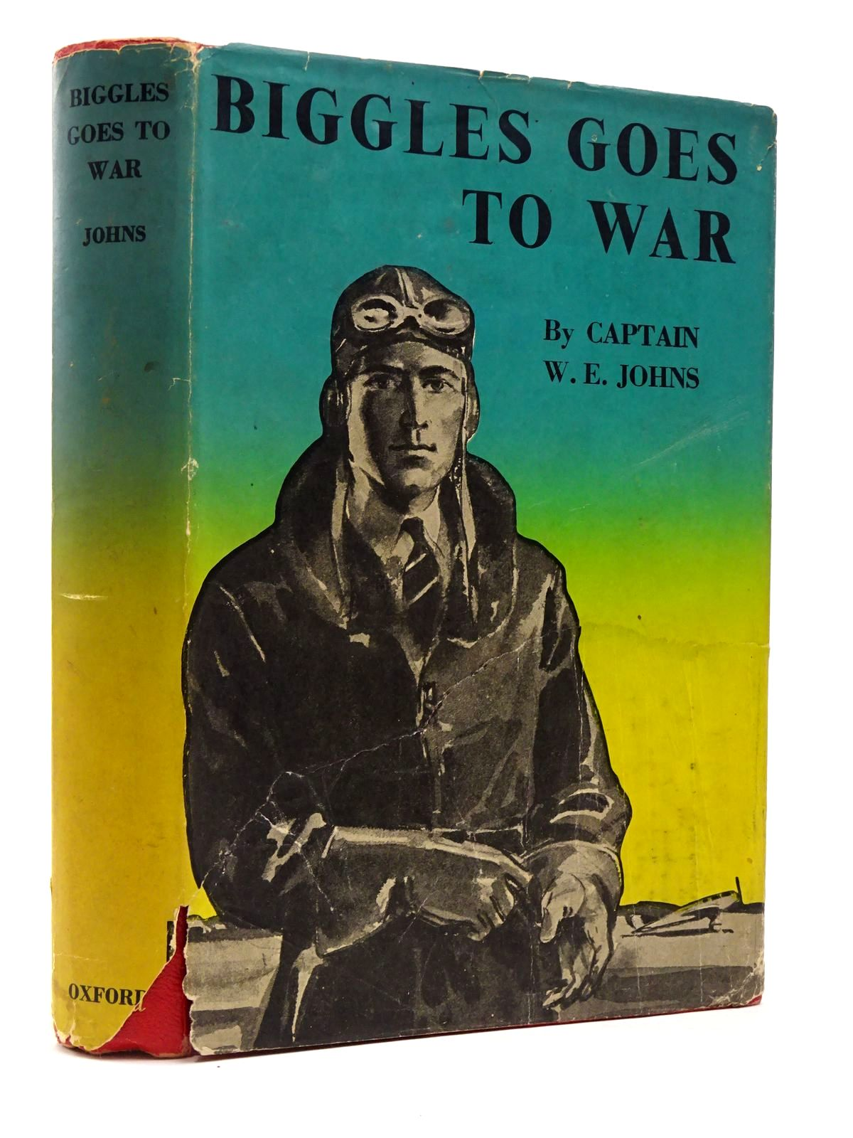 Photo of BIGGLES GOES TO WAR written by Johns, W.E. illustrated by Tyas, Martin published by Geoffrey Cumberlege, Oxford University Press (STOCK CODE: 2129467)  for sale by Stella & Rose's Books