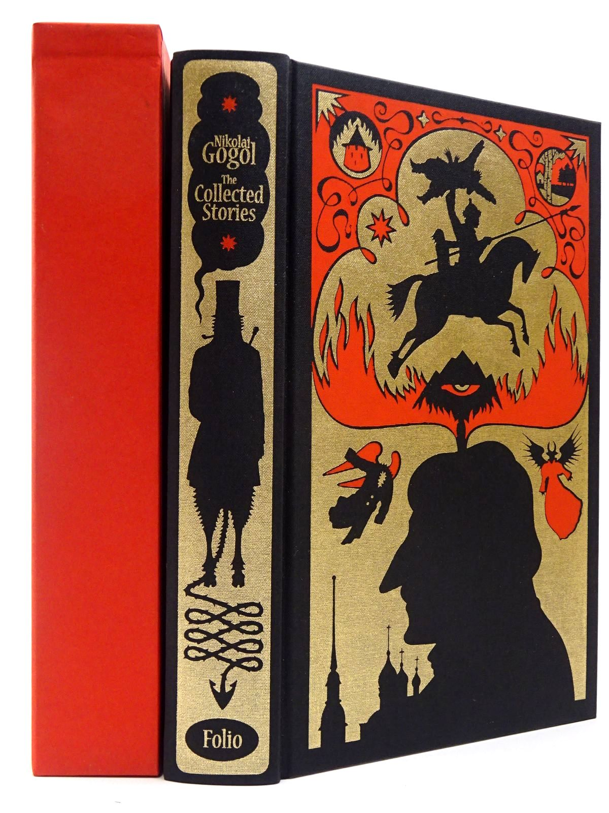 Photo of THE COLLECTED STORIES OF NIKOLAI GOGOL written by Gogol, Nikolai<br />Garnett, Constance<br />Hensher, Philip illustrated by Suart, Peter published by Folio Society (STOCK CODE: 2129472)  for sale by Stella & Rose's Books
