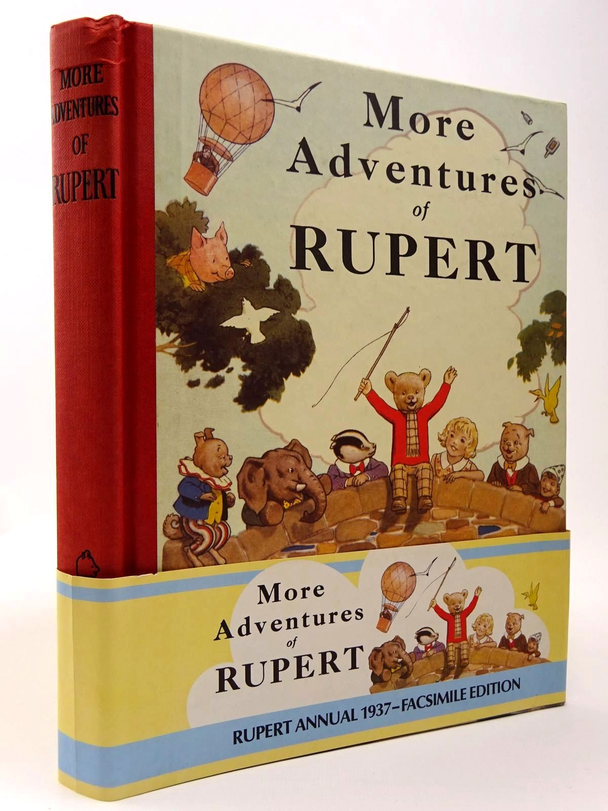 Photo of RUPERT ANNUAL 1937 (FACSIMILE) - MORE ADVENTURES OF RUPERT written by Bestall, Alfred illustrated by Bestall, Alfred published by Express Newspapers Ltd. (STOCK CODE: 2129485)  for sale by Stella & Rose's Books