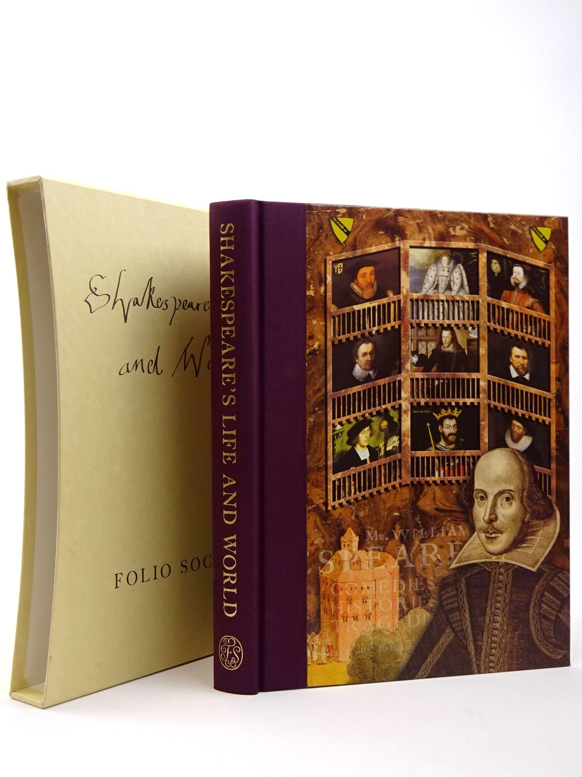 Photo of SHAKESPEARE'S LIFE AND WORLD written by Duncan-Jones, Katherine<br />Shakespeare, William published by Folio Society (STOCK CODE: 2129578)  for sale by Stella & Rose's Books
