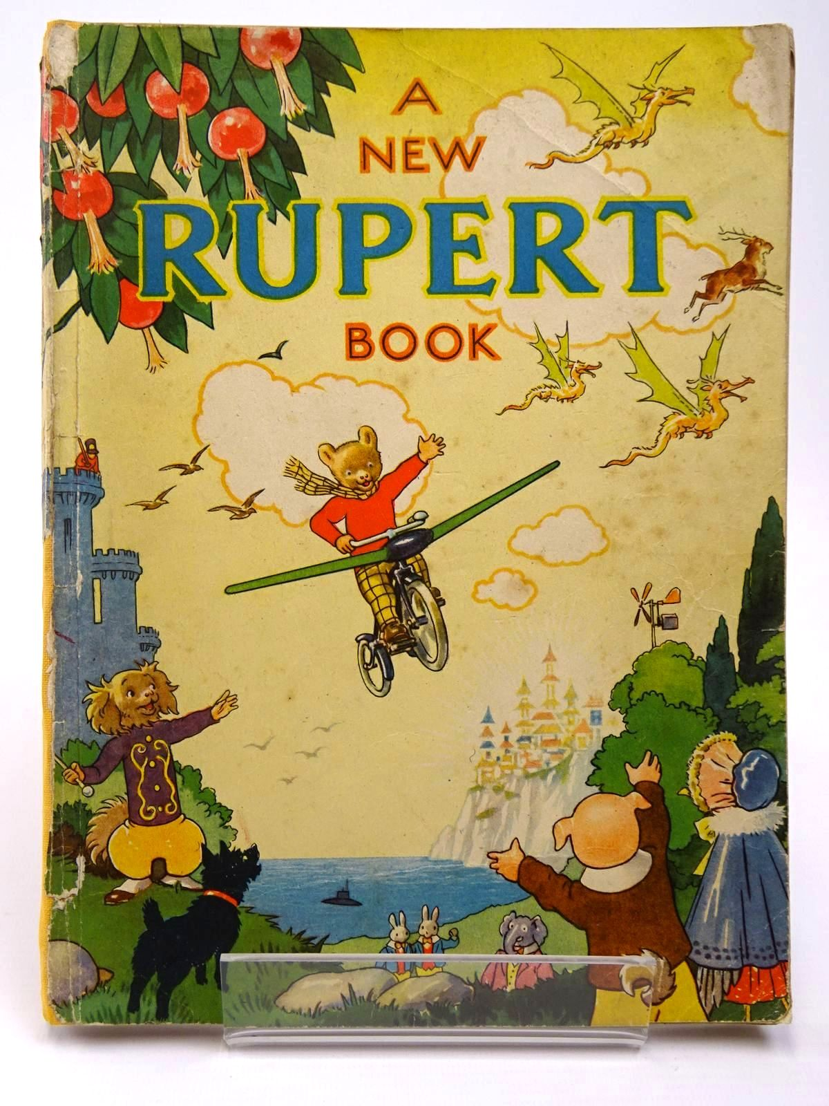 Photo of RUPERT ANNUAL 1945 - A NEW RUPERT BOOK
