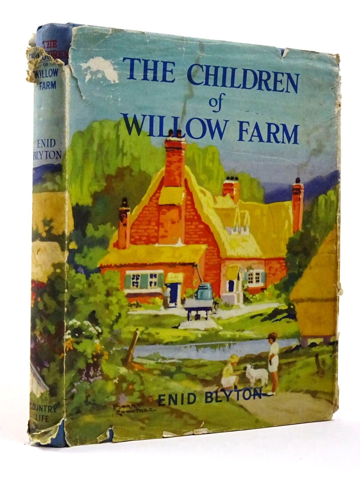 Photo of THE CHILDREN OF WILLOW FARM written by Blyton, Enid illustrated by Rountree, Harry published by Country Life Ltd. (STOCK CODE: 2129644)  for sale by Stella & Rose's Books