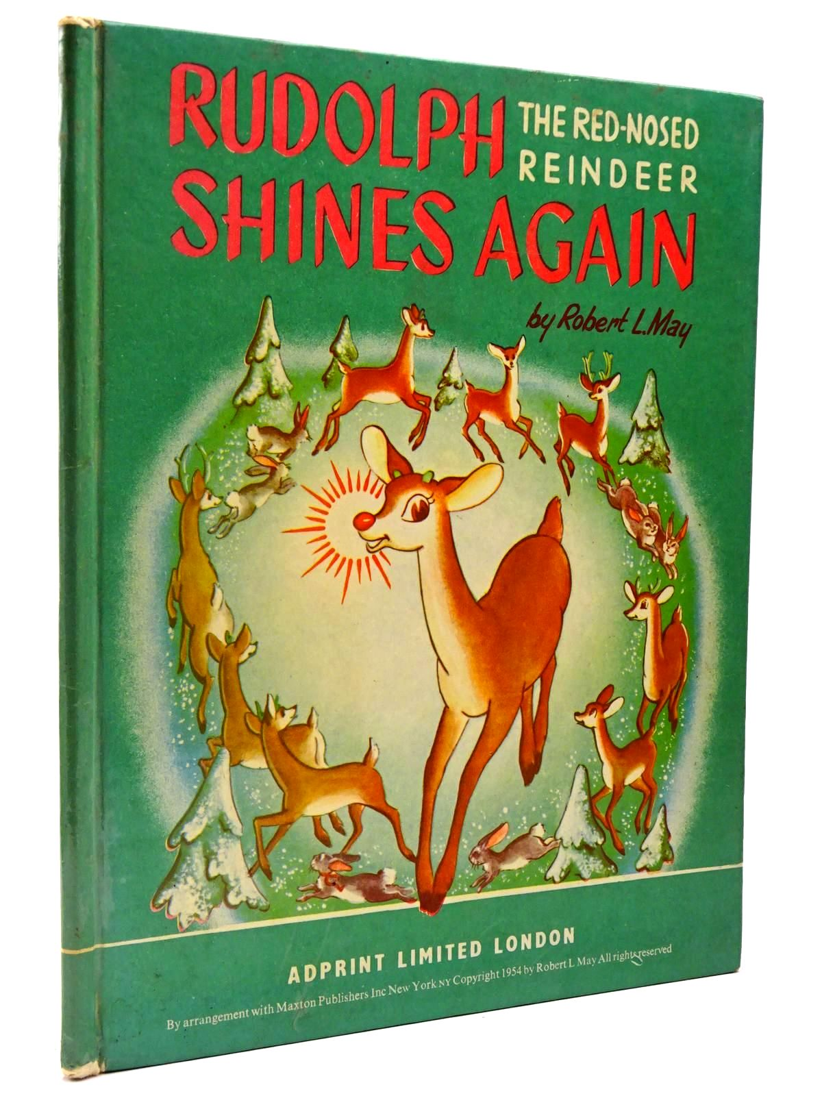 Photo of RUDOLPH THE RED-NOSED REINDEER SHINES AGAIN written by May, Robert L. illustrated by Guild, Marion (STOCK CODE: 2129673)  for sale by Stella & Rose's Books