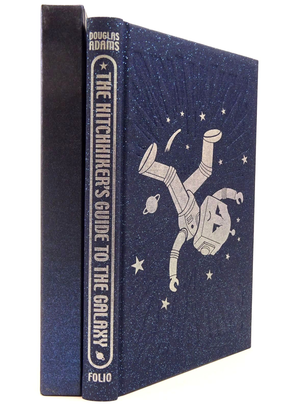 Photo of THE HITCHHIKER'S GUIDE TO THE GALAXY written by Adams, Douglas illustrated by Burton, Jonathan published by Folio Society (STOCK CODE: 2129702)  for sale by Stella & Rose's Books