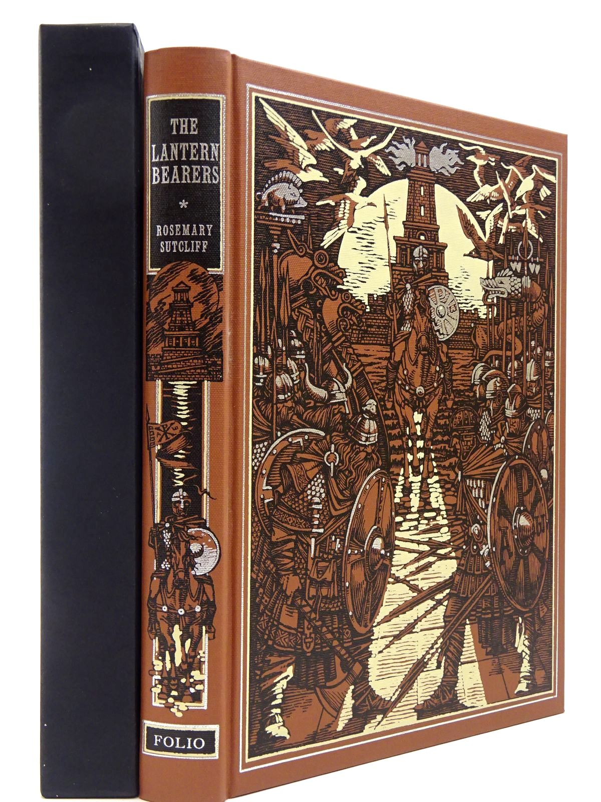 Photo of THE LANTERN BEARERS written by Sutcliff, Rosemary<br />Lively, Penelope illustrated by Pisarev, Roman published by Folio Society (STOCK CODE: 2129705)  for sale by Stella & Rose's Books