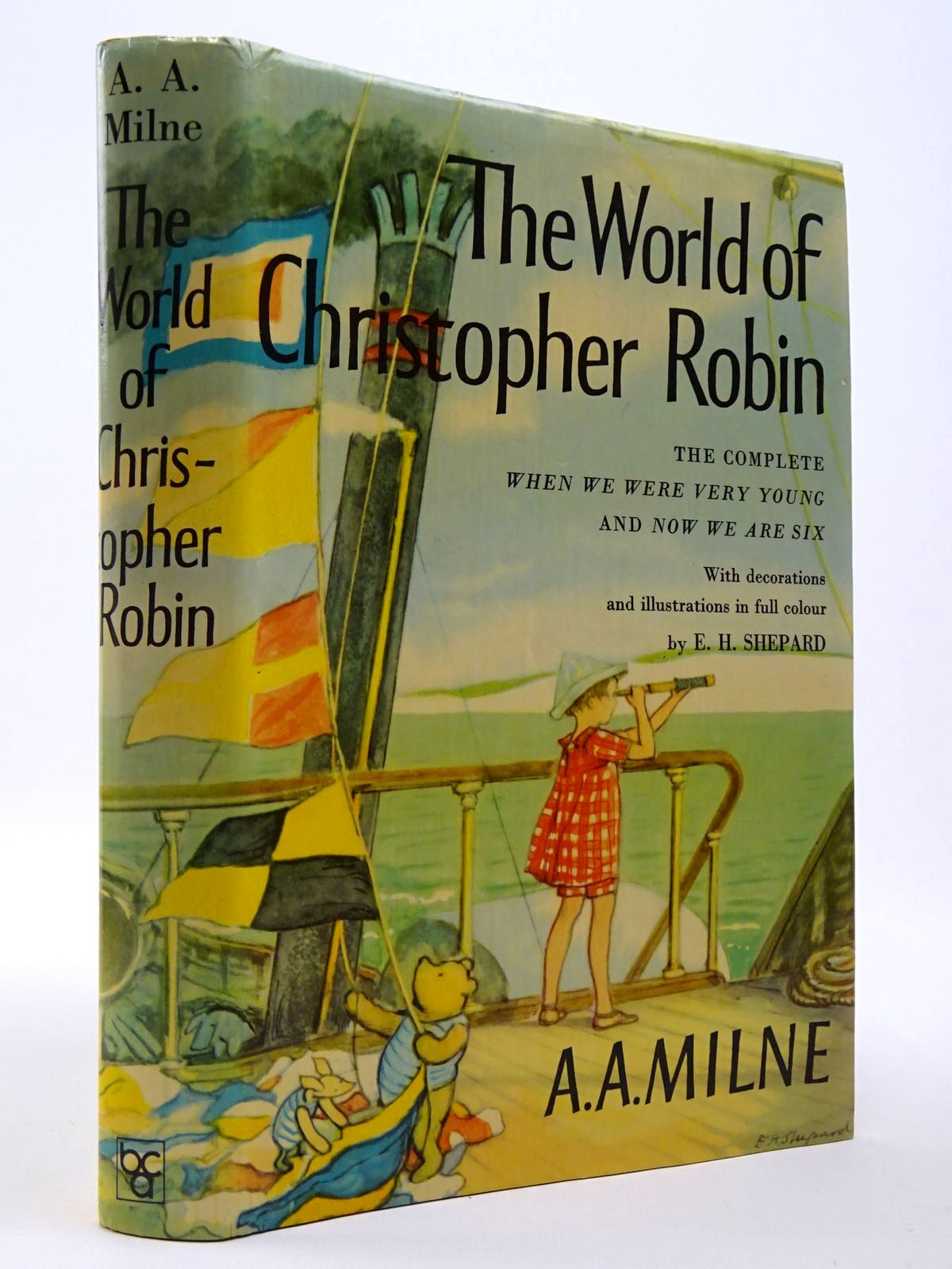 Photo of THE WORLD OF CHRISTOPHER ROBIN written by Milne, A.A. illustrated by Shepard, E.H. published by Book Club Associates (STOCK CODE: 2129732)  for sale by Stella & Rose's Books