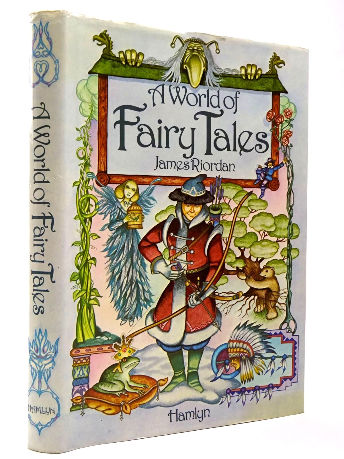 Photo of A WORLD OF FAIRY TALES written by Riordan, James illustrated by Chalk, Gary<br />Hall, Douglas<br />et al.,  published by Hamlyn (STOCK CODE: 2129783)  for sale by Stella & Rose's Books