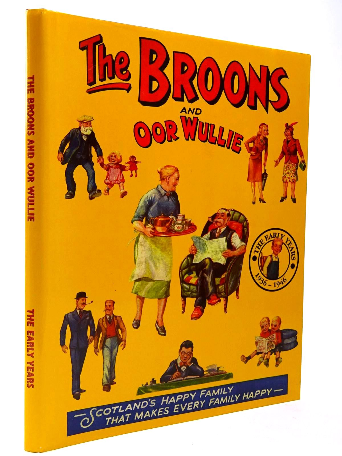 Photo of THE BROONS AND OOR WULLIE THE EARLY YEARS 1936-1946 published by D.C. Thomson & Co Ltd. (STOCK CODE: 2129787)  for sale by Stella & Rose's Books